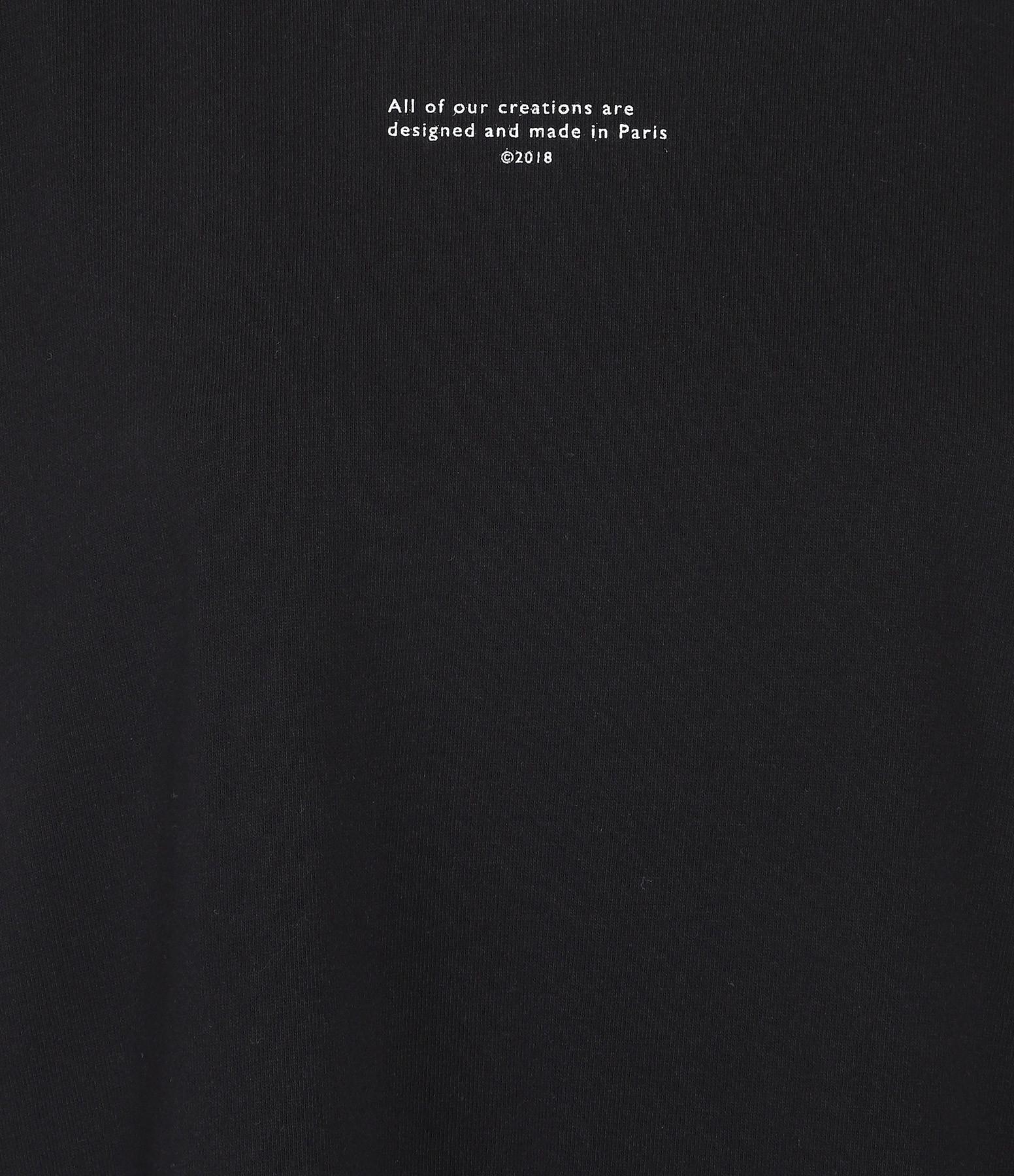 MARGAUX LONNBERG - Robe Abby Coton Noir