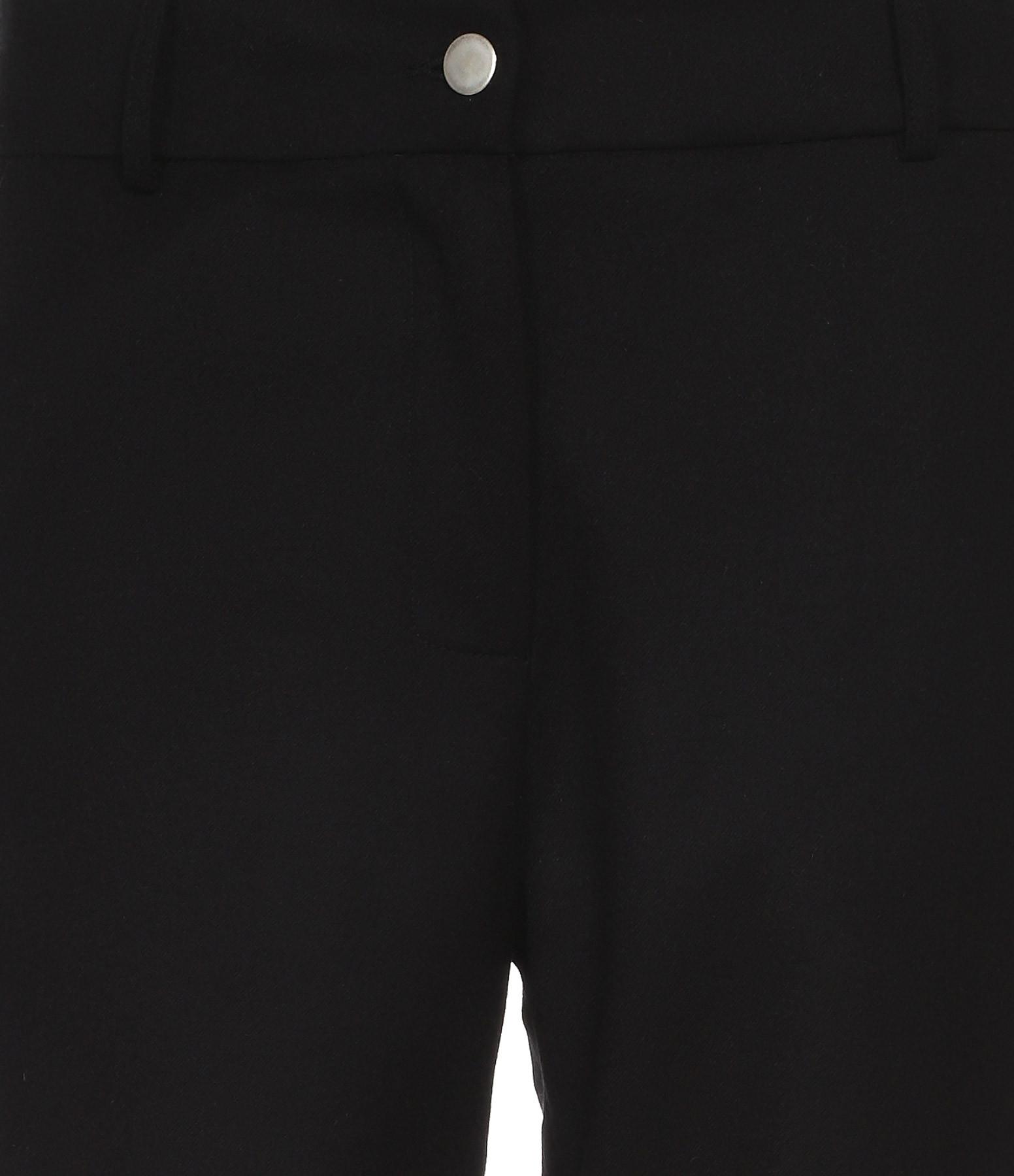 MARGAUX LONNBERG - Pantalon Jarvis Laine Noir