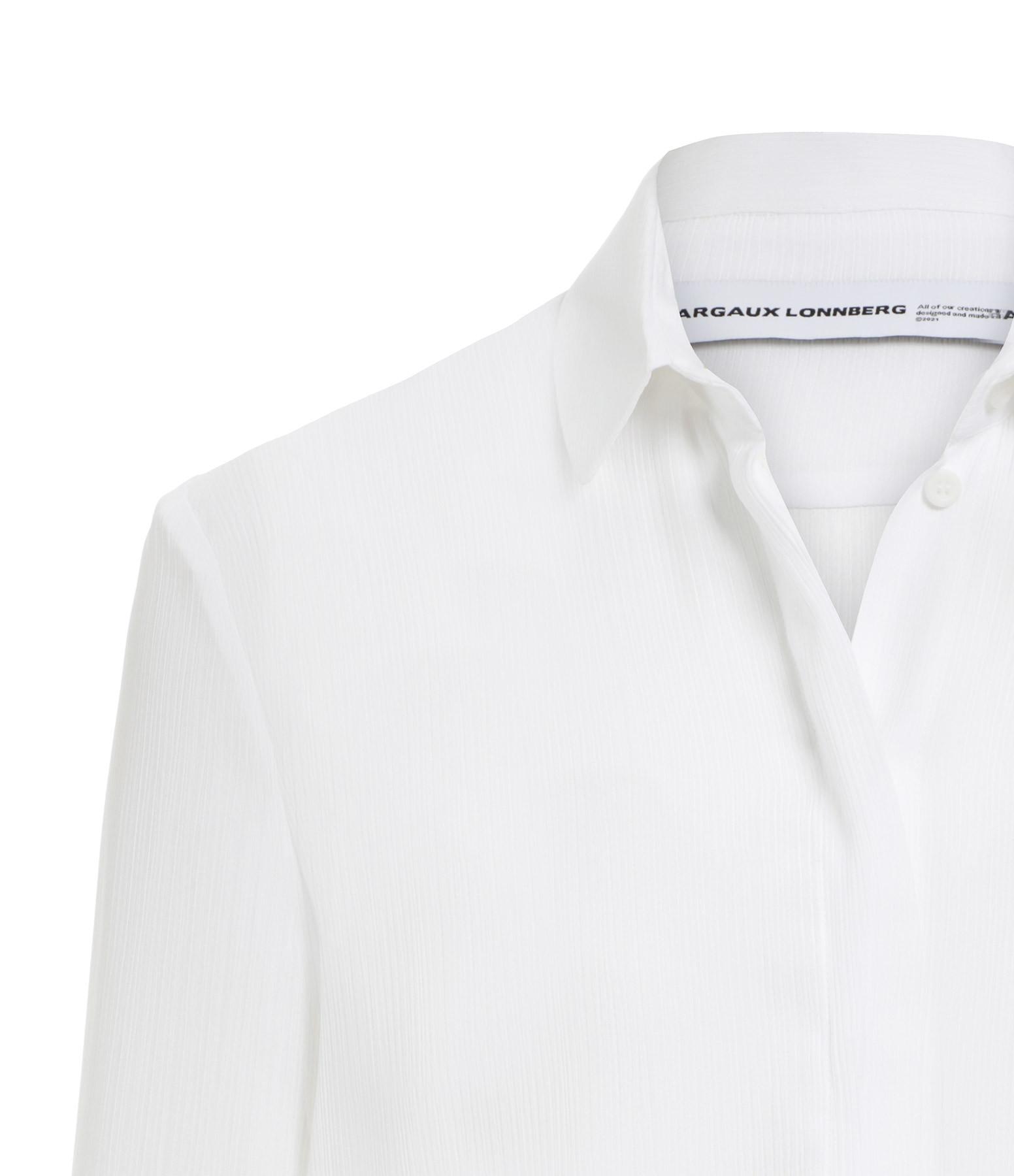 MARGAUX LONNBERG - Chemise Ward Blanc
