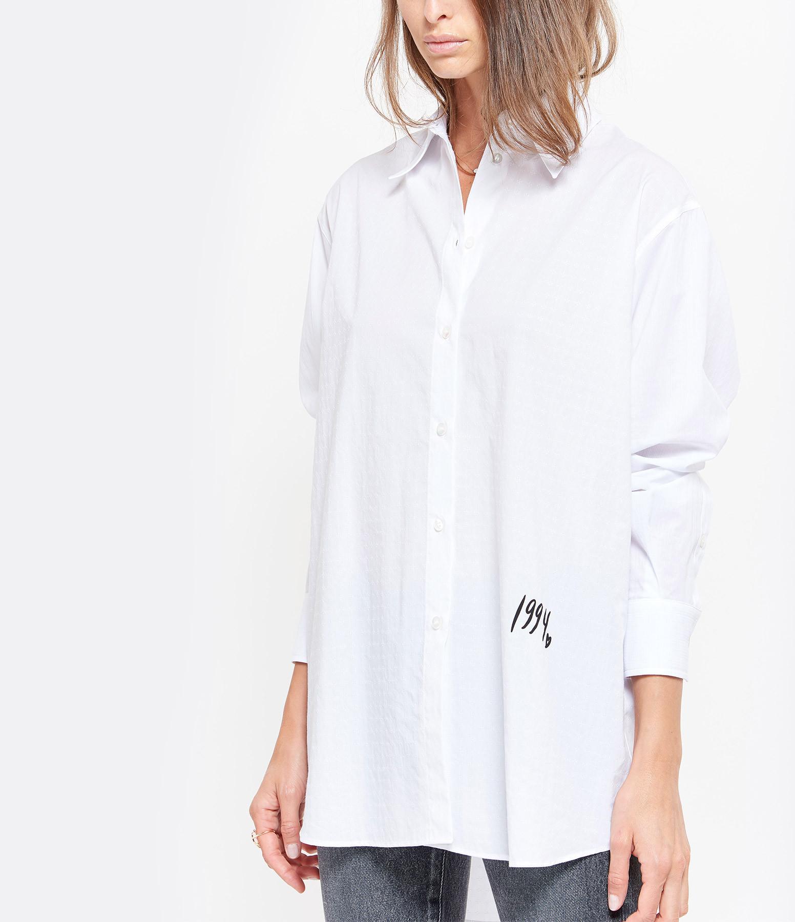 MM6 MAISON MARGIELA - Chemise Jacquard Blanc