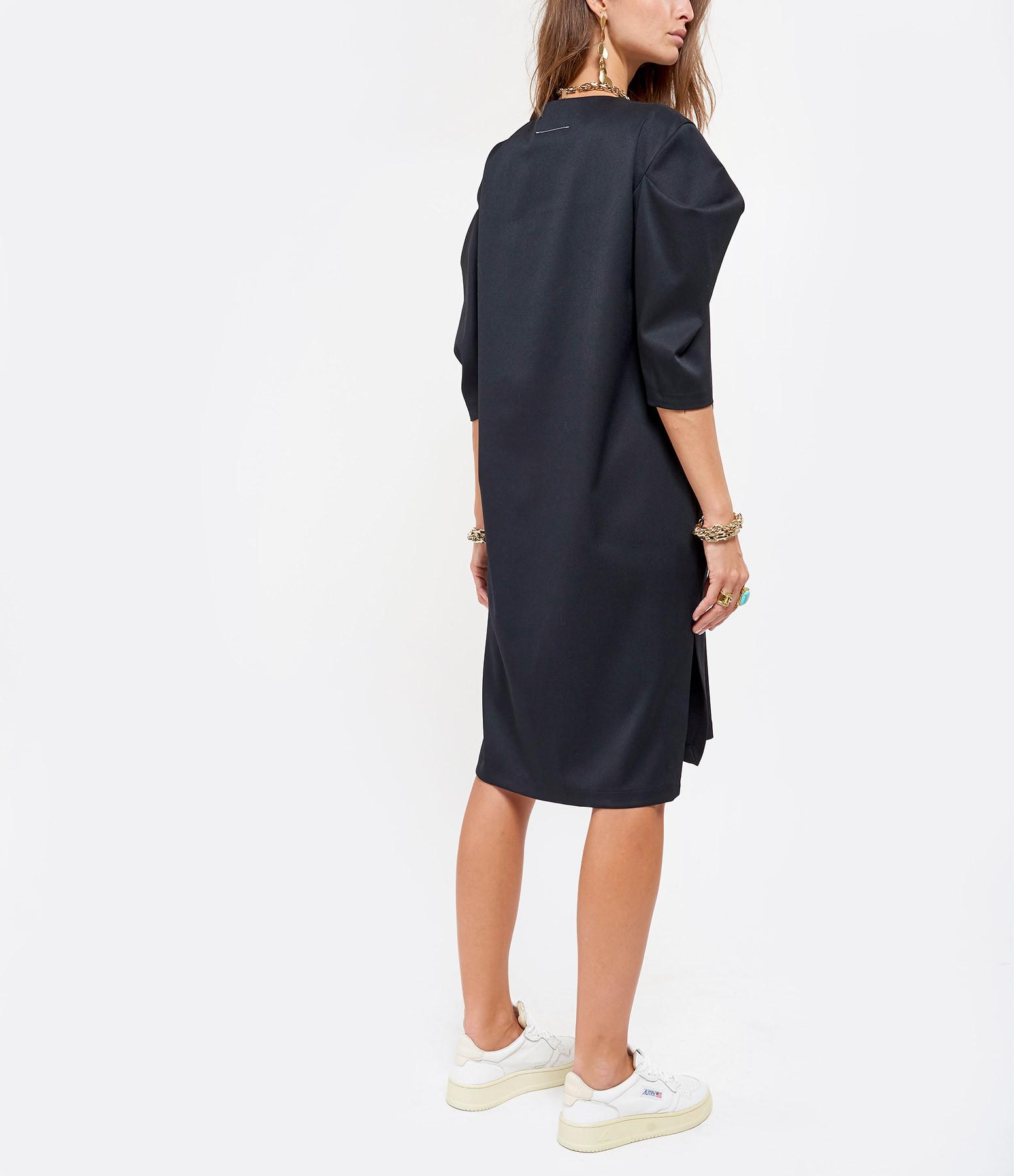 MM6 MAISON MARGIELA - Robe Laine Noir