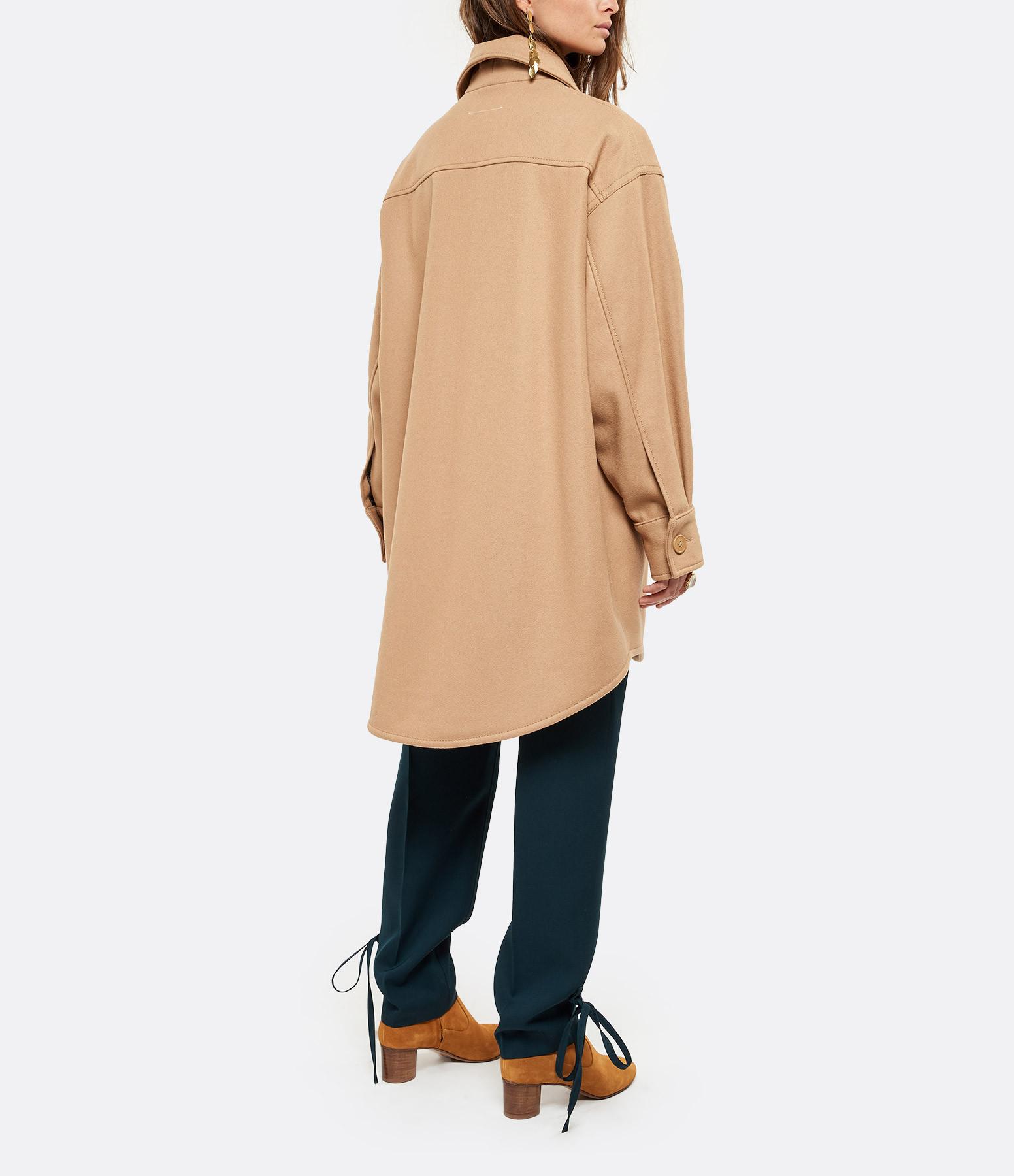 MM6 MAISON MARGIELA - Veste Laine Oversize Camel