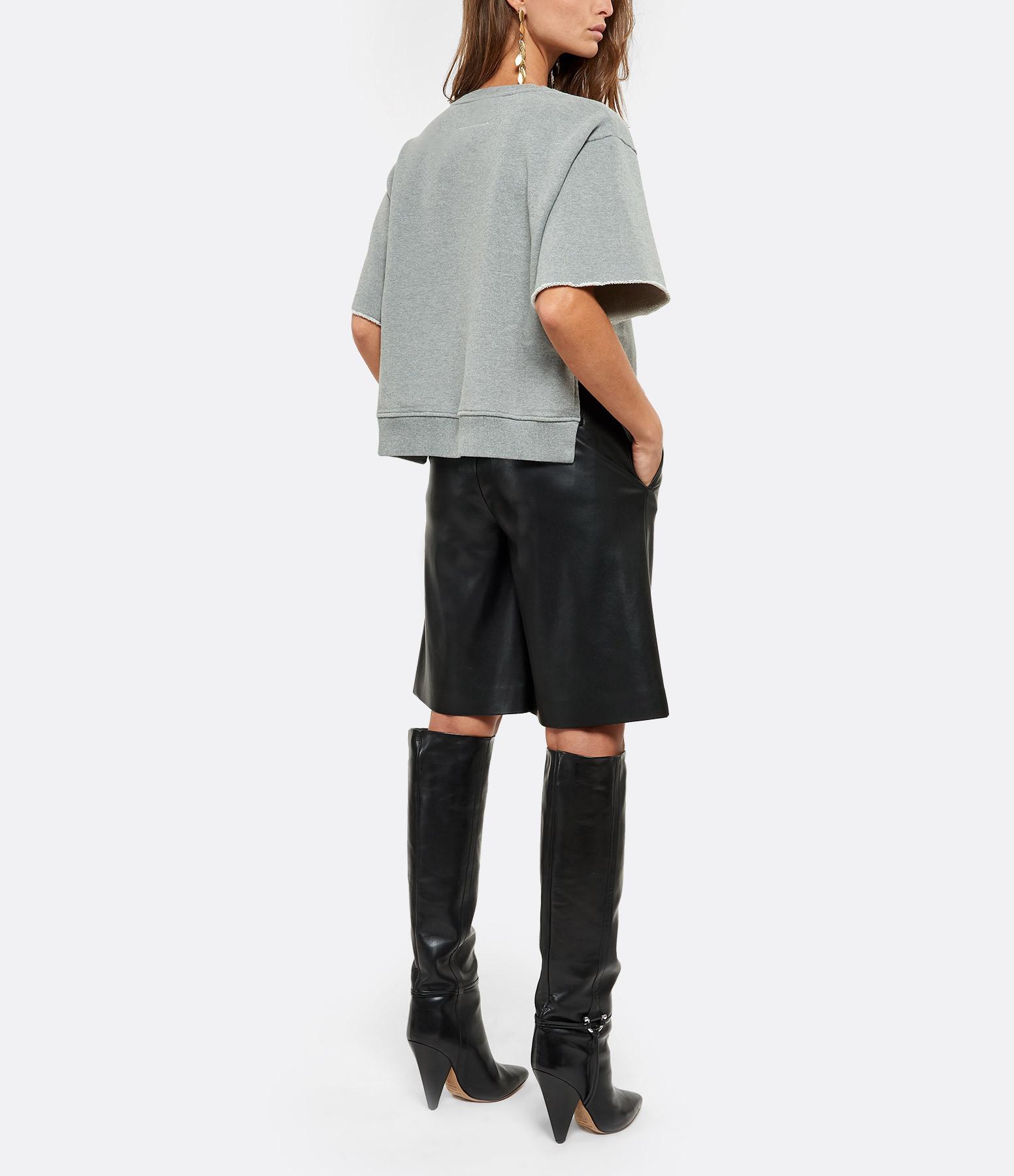 MM6 MAISON MARGIELA - Sweatshirt Oversize Gris