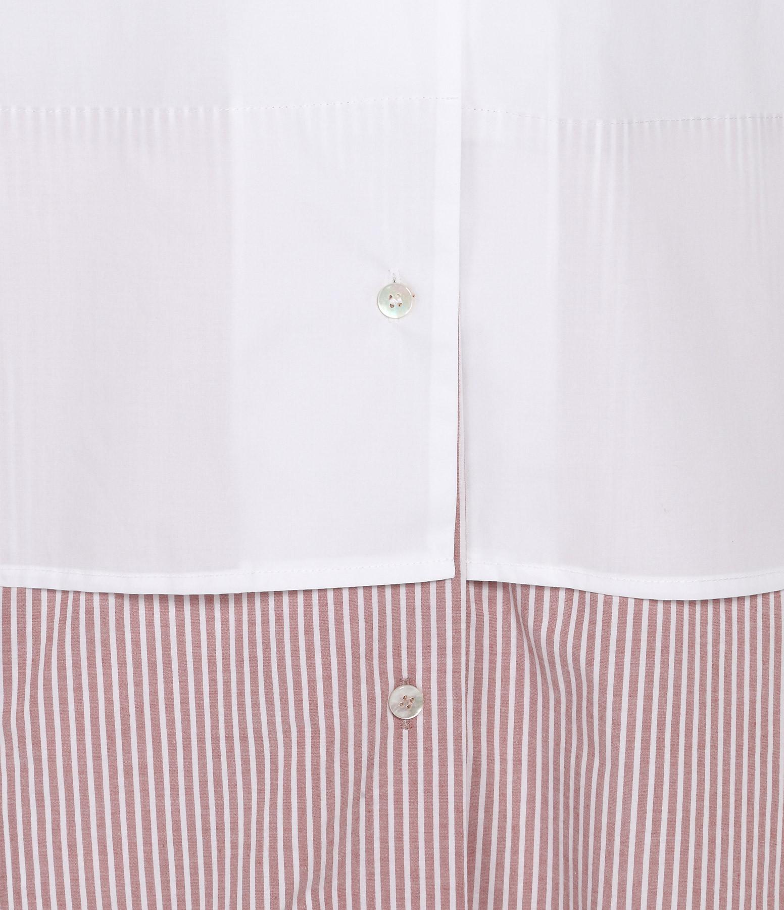 Chemise Maison Robe Mm6 Blanc Margiela w4nvCqtUT
