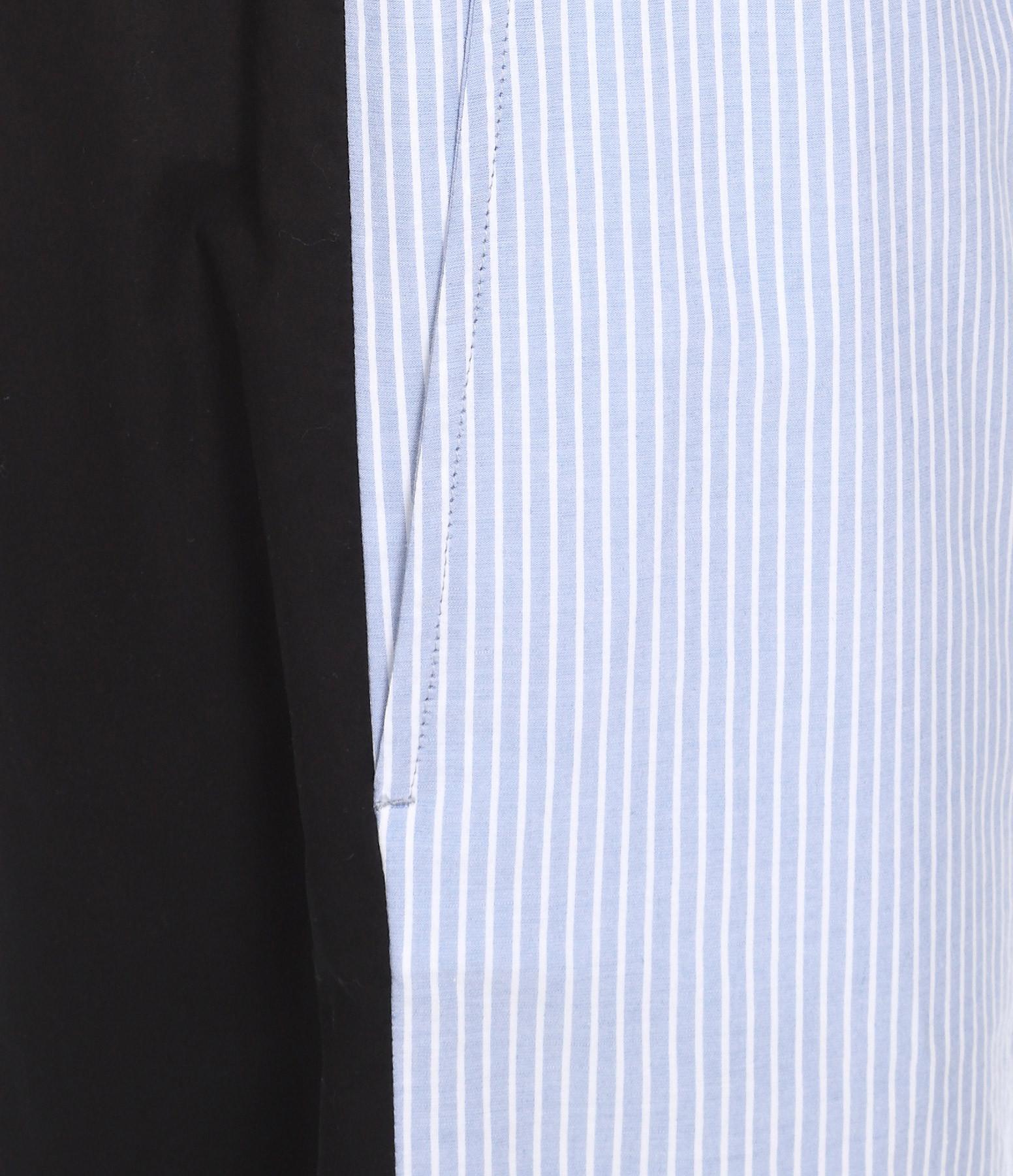 MM6 MAISON MARGIELA - Pantalon Elastiqué Bleu Noir