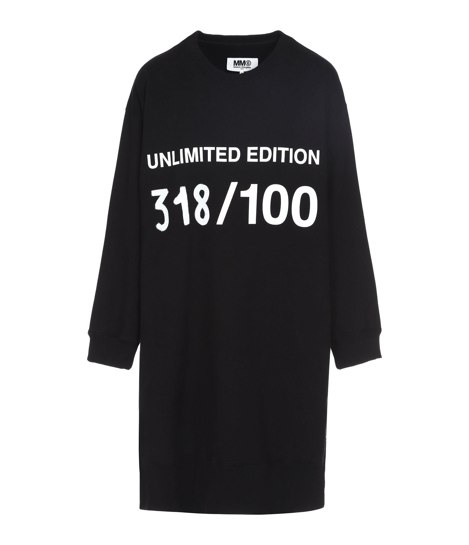 Robe Echantillon Noir, Pièce Unique Numérotée