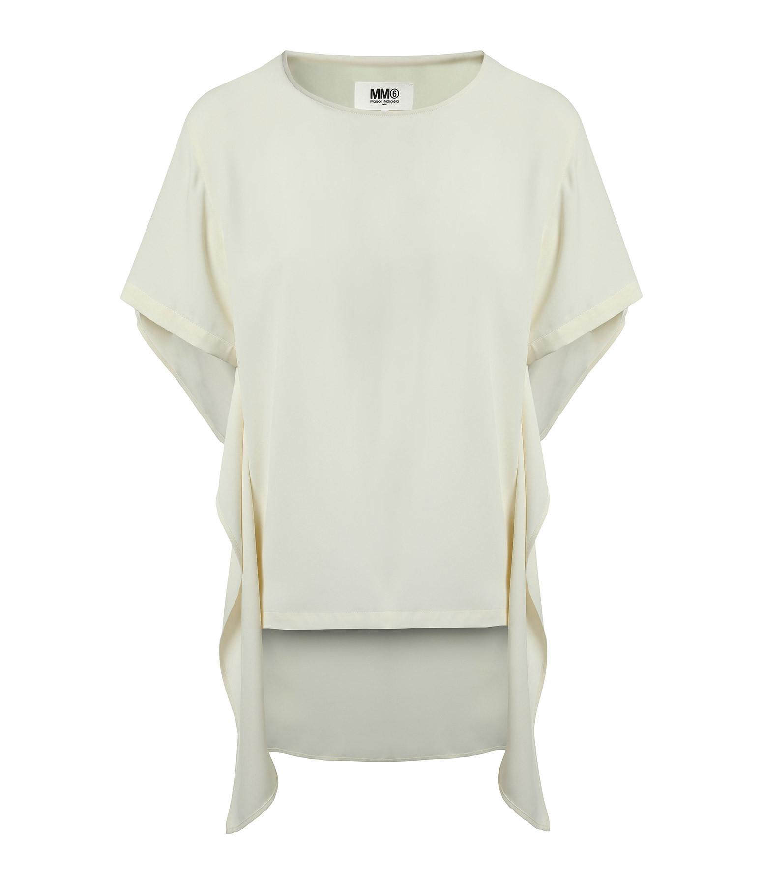 MM6 MAISON MARGIELA - Tee-shirt Coton Noir
