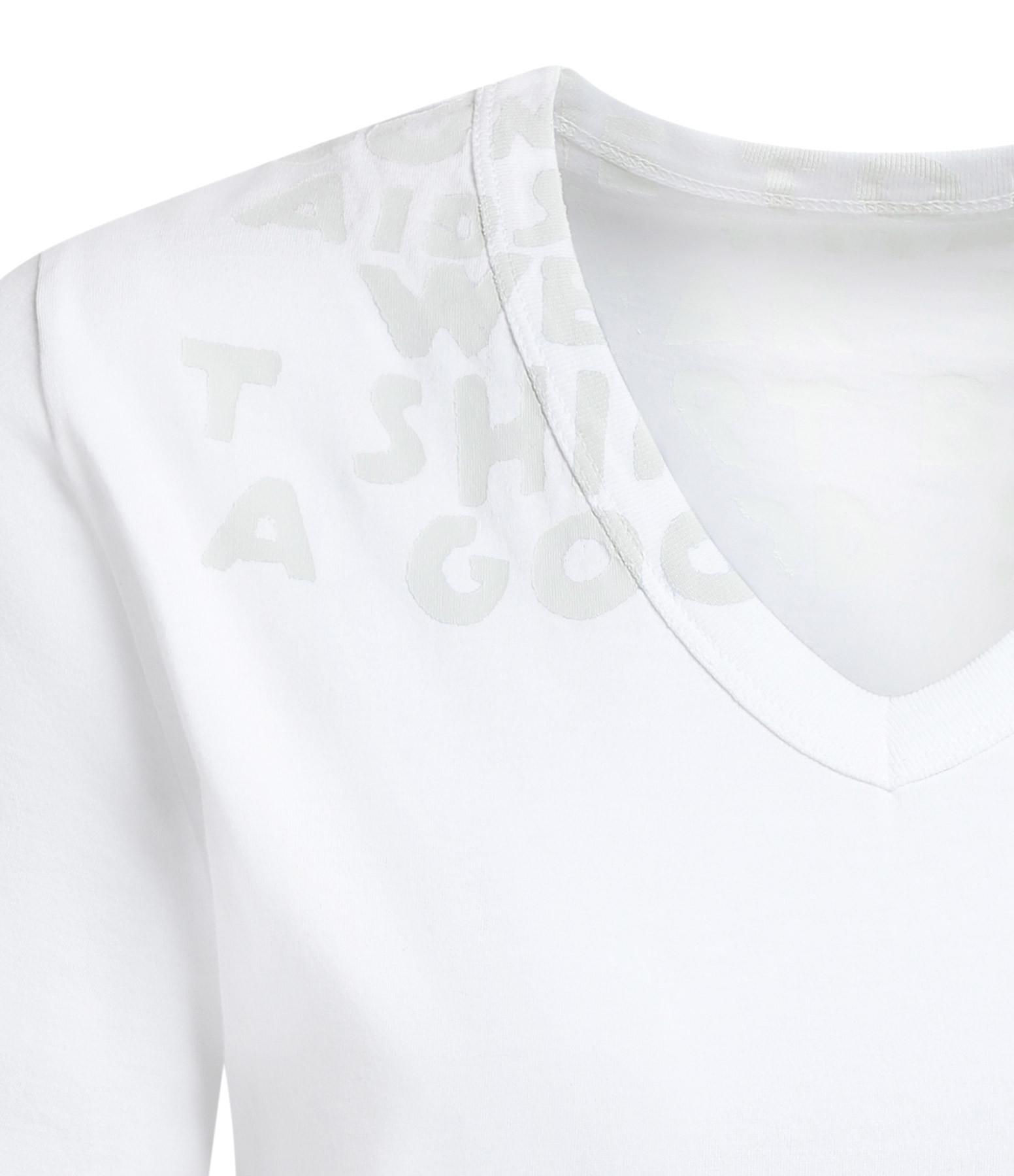 MM6 MAISON MARGIELA - Tee-shirt Court Blanc