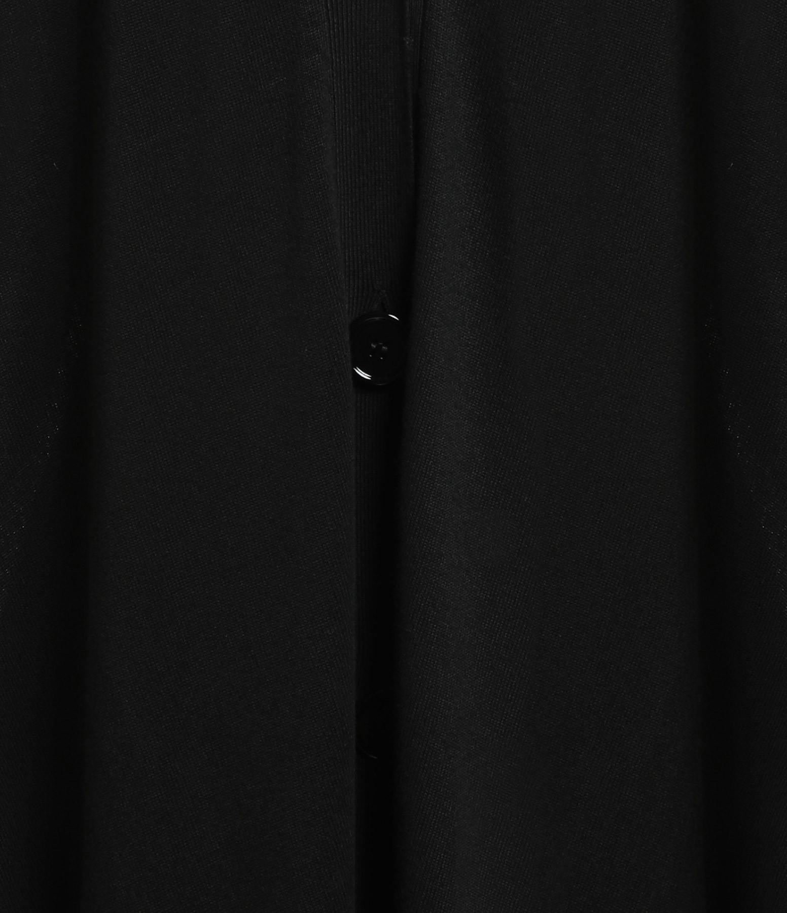 MM6 MAISON MARGIELA - Gilet Long Margiela Noir Blanc