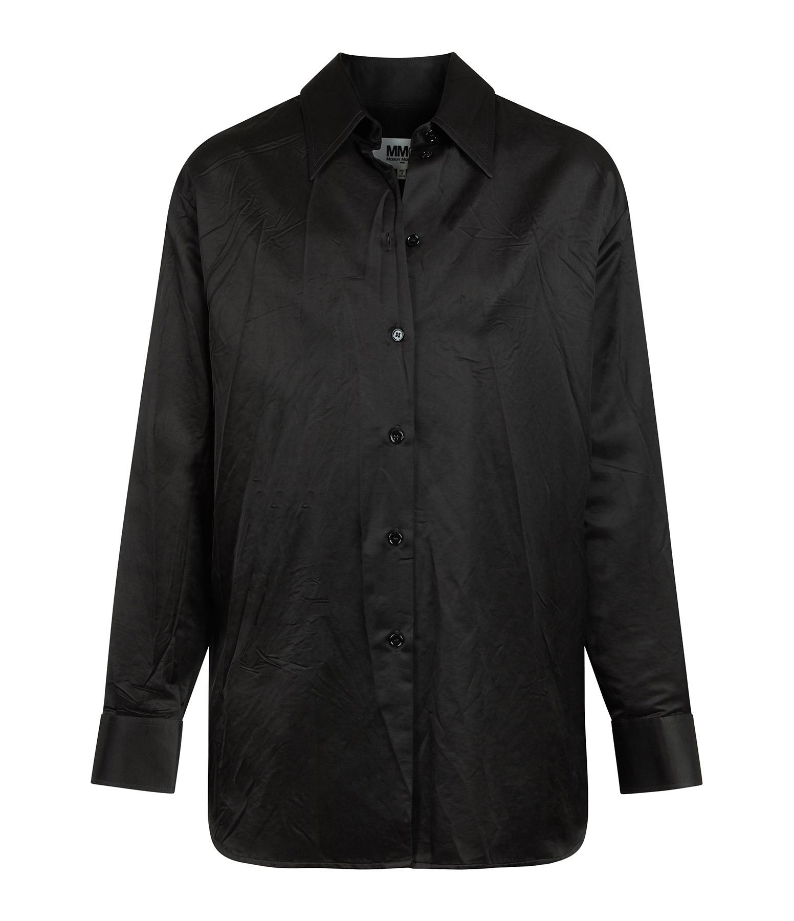 MM6 MAISON MARGIELA - Chemise Coton Noir