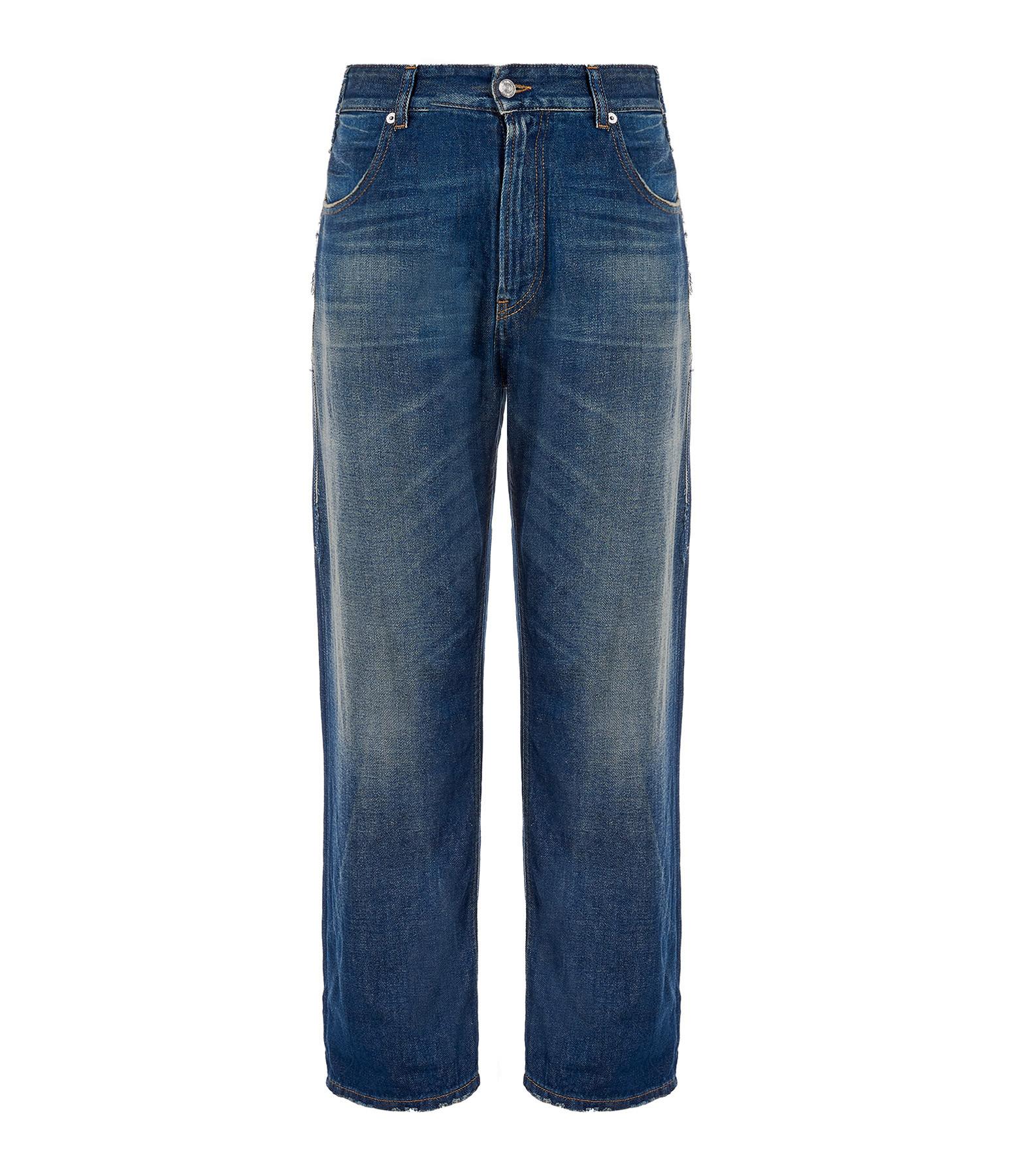 MM6 MAISON MARGIELA - Pantalon Délavé