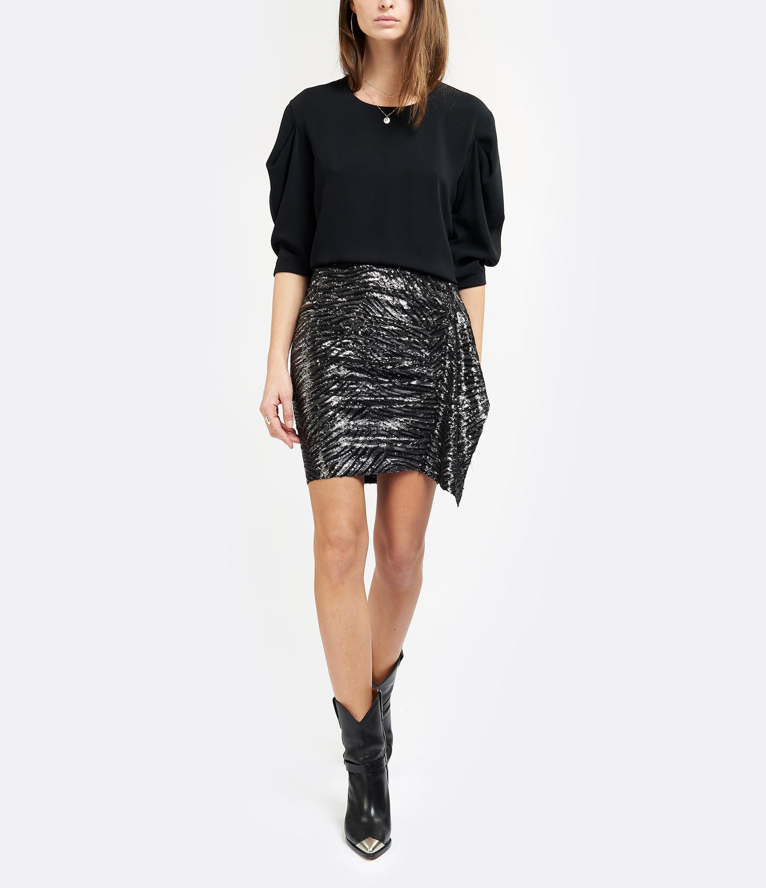 MM6 MAISON MARGIELA - Tee-shirt Fluide Noir