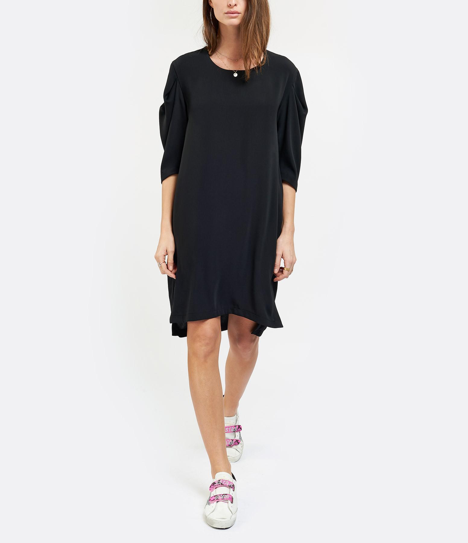 MM6 MAISON MARGIELA - Robe Fluide Noir