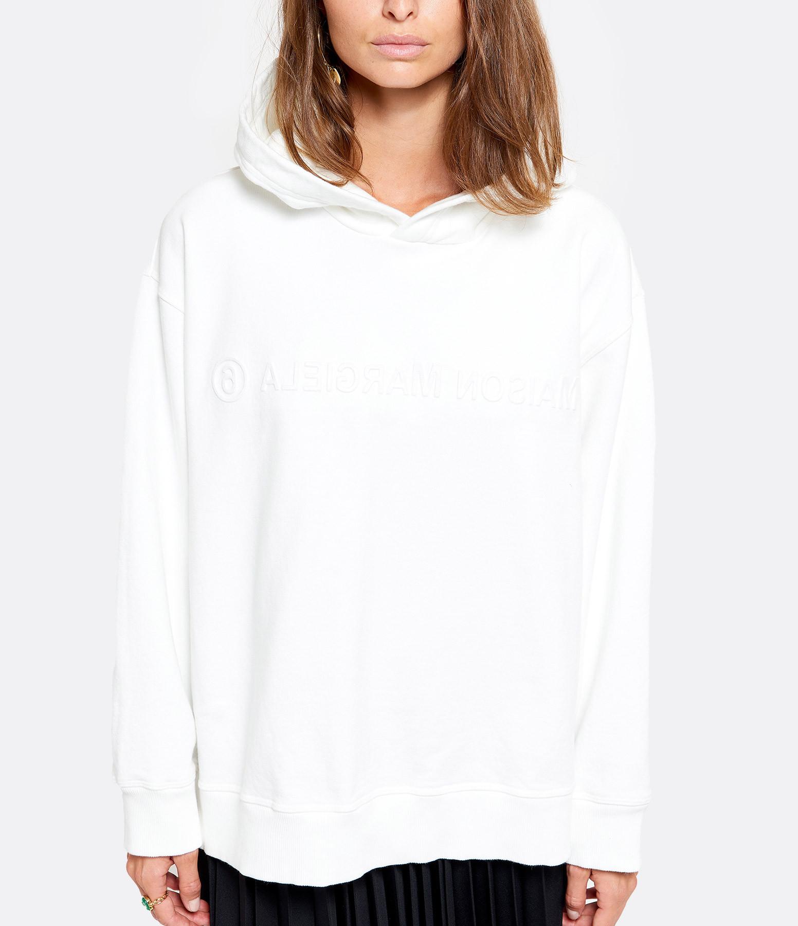 MM6 MAISON MARGIELA - Sweatshirt Imprimé Beige