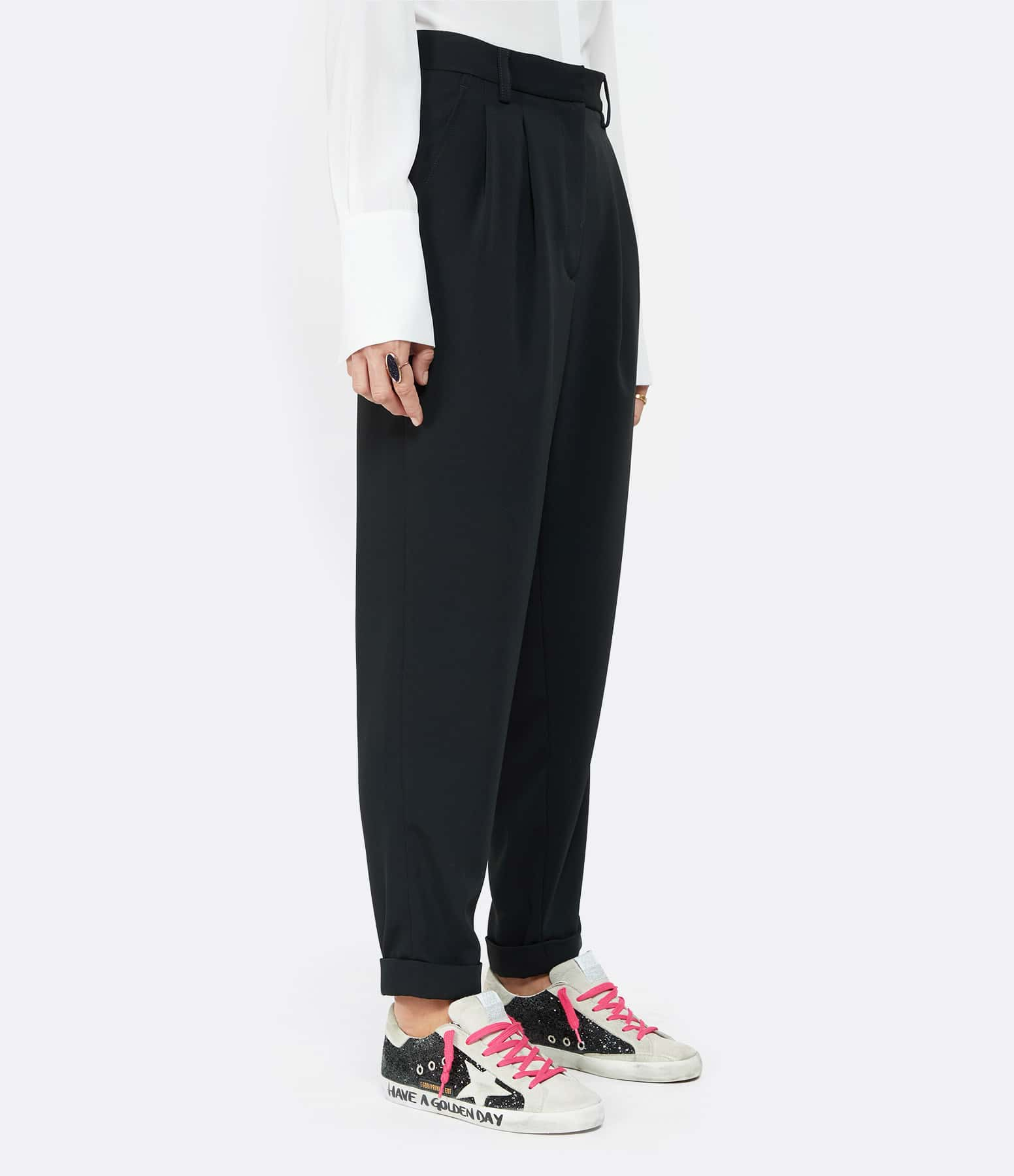 MM6 MAISON MARGIELA - Pantalon Loose Noir