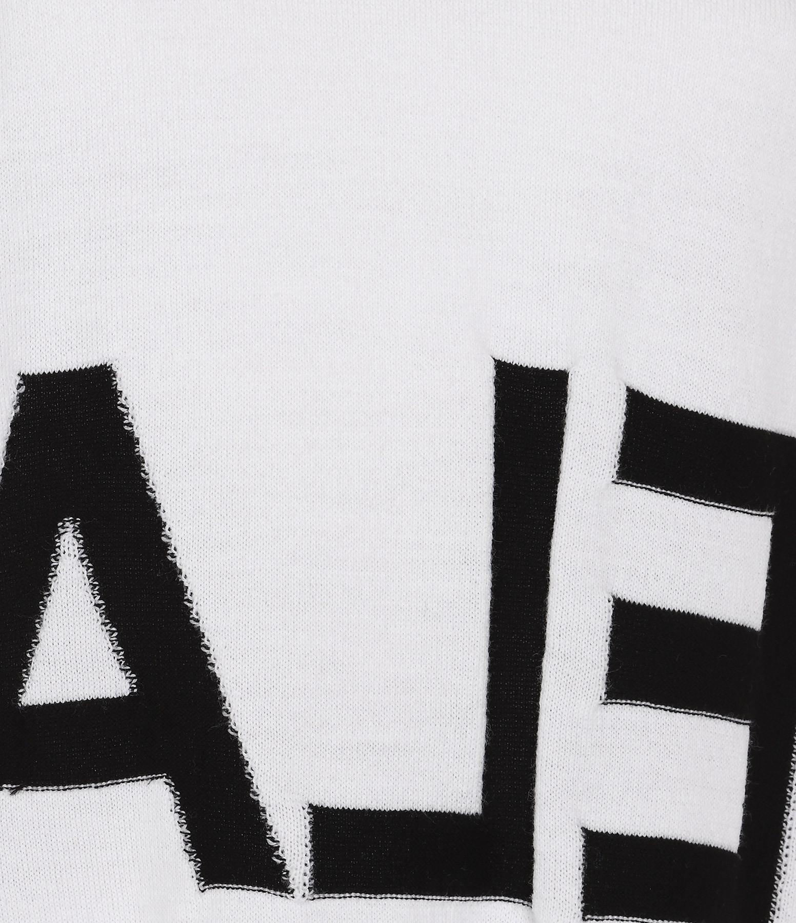 MM6 MAISON MARGIELA - Pull Gauge 14 Noir Blanc
