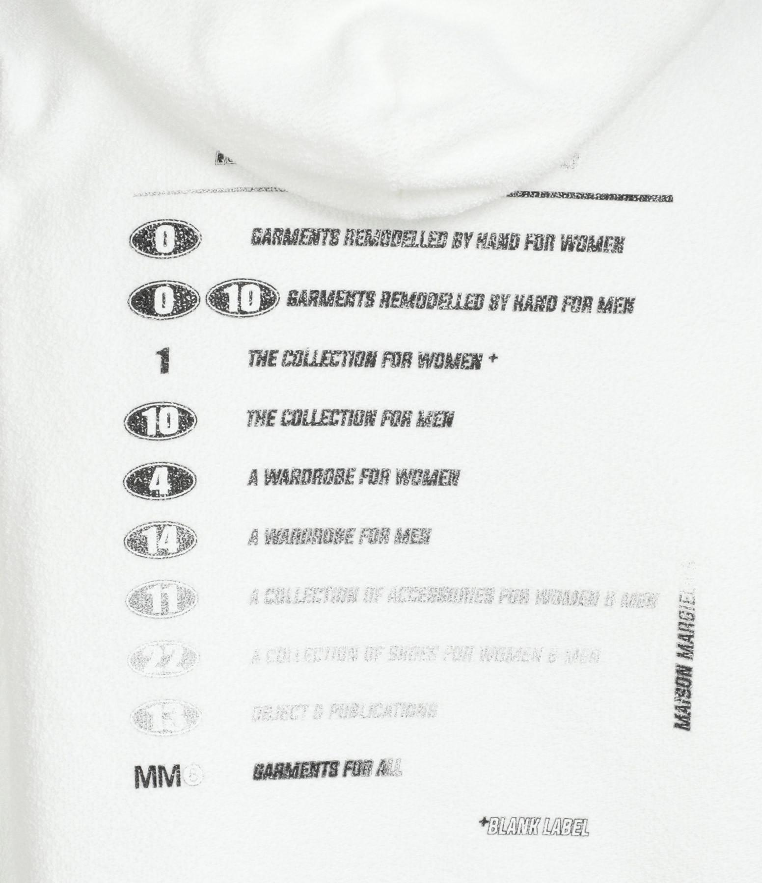 MM6 MAISON MARGIELA - Sweatshirt Oversize Blanc