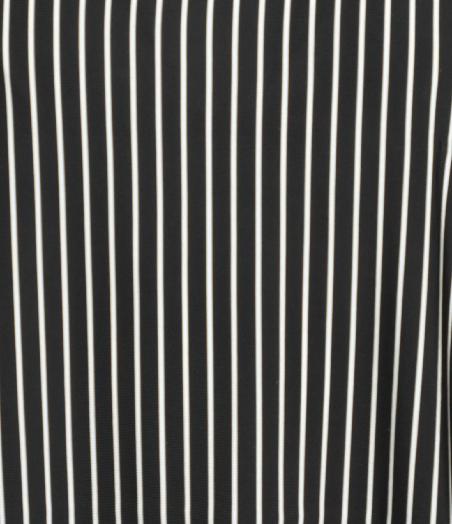 MM6 MAISON MARGIELA - Top Jersey Rayures Noir Blanc