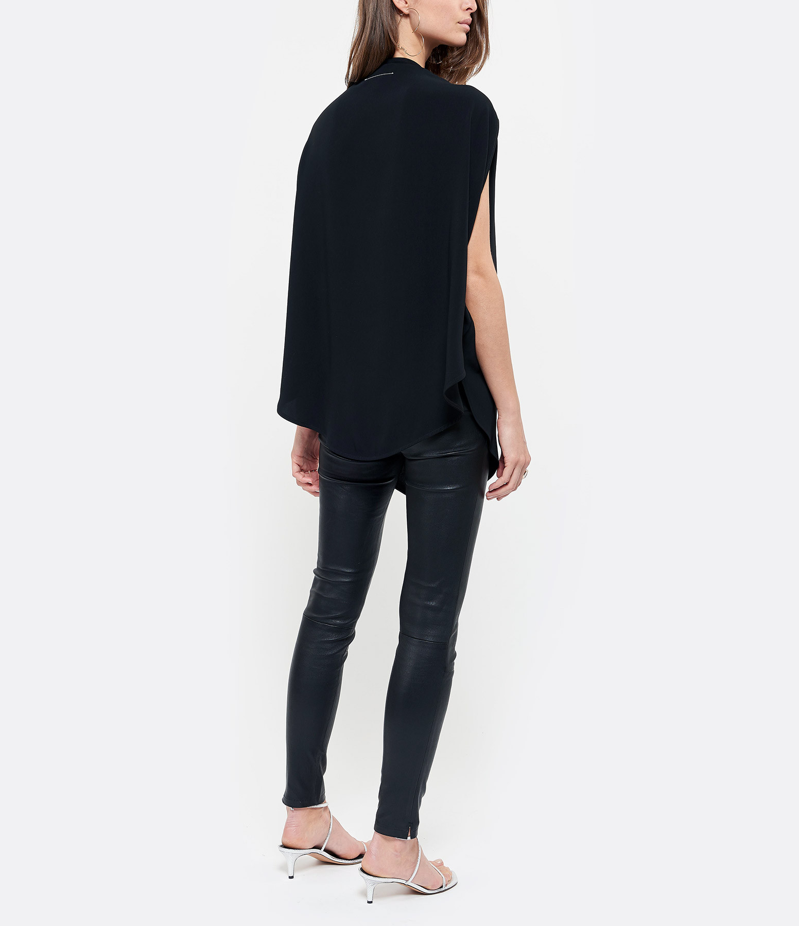 MM6 MAISON MARGIELA - Top Loose Noir, Collection Studio