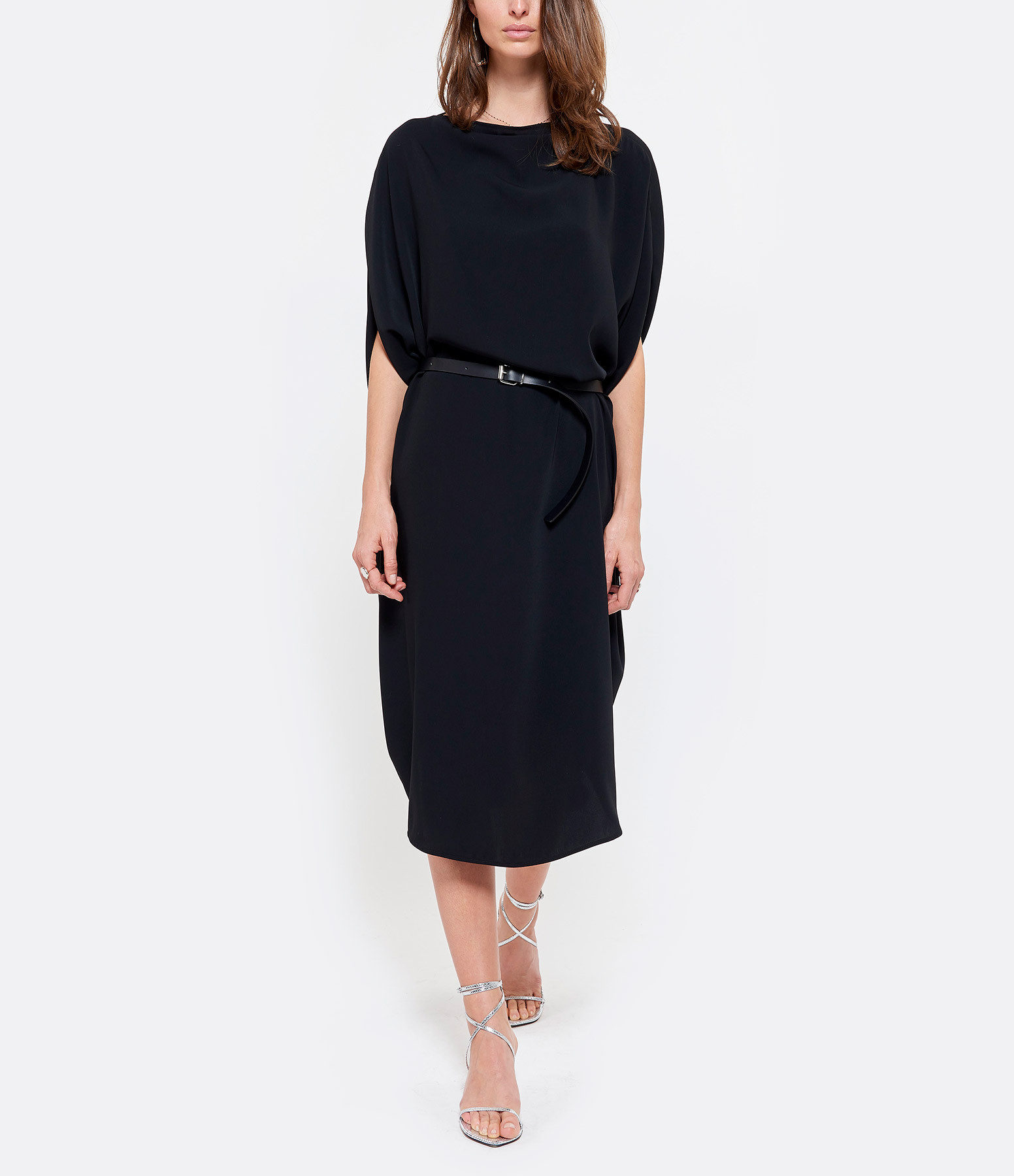 MM6 MAISON MARGIELA - Robe Cordon Noir, Collection Studio