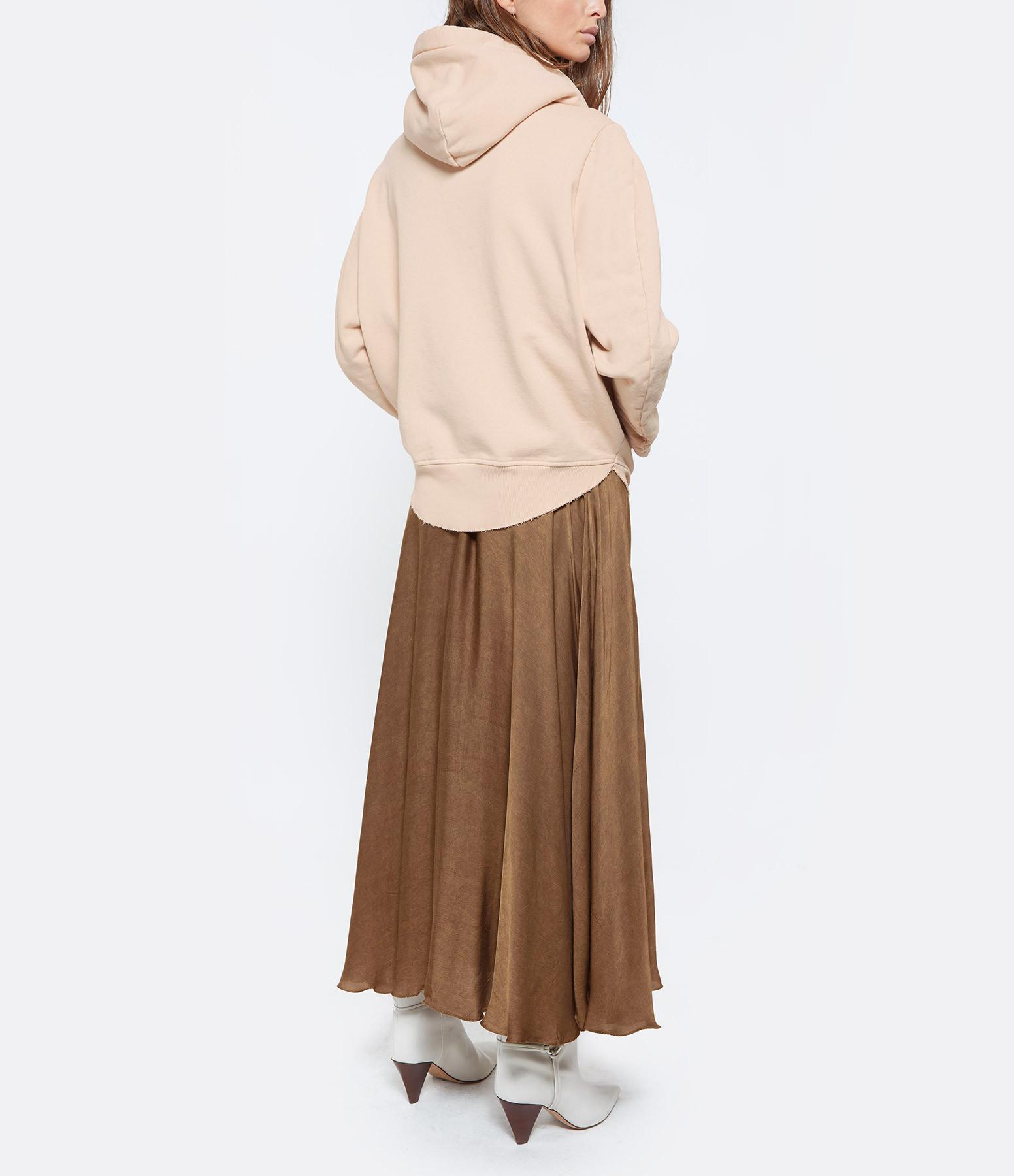 MM6 MAISON MARGIELA - Sweatshirt Oversize Nude, Collection Studio