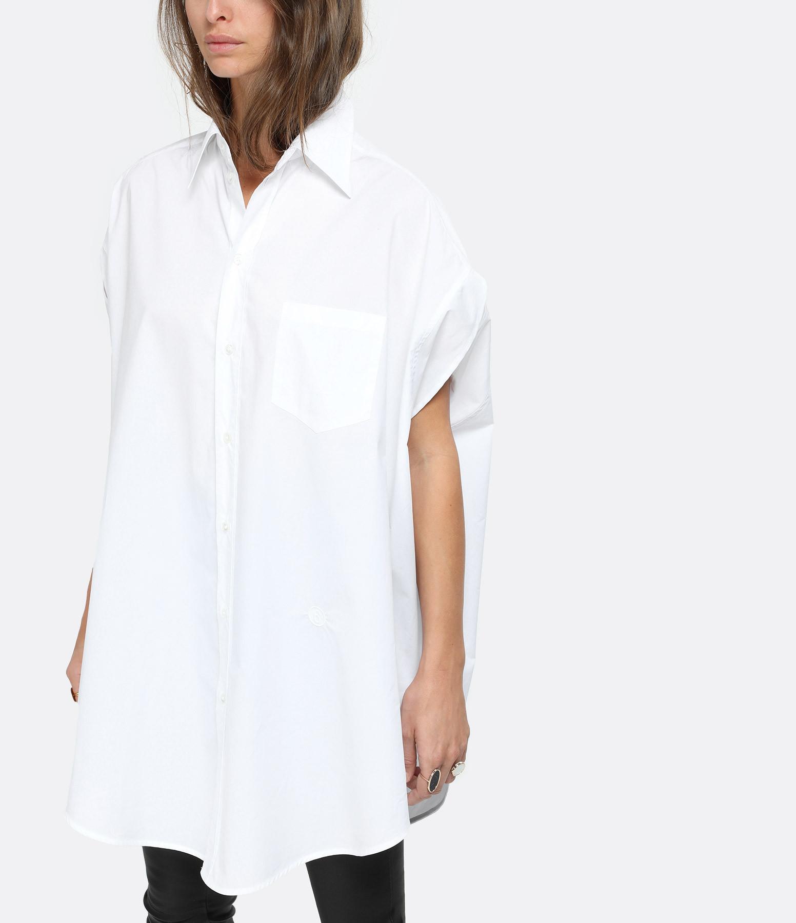 MM6 MAISON MARGIELA - Chemise Oversize Blanc, Collection Studio