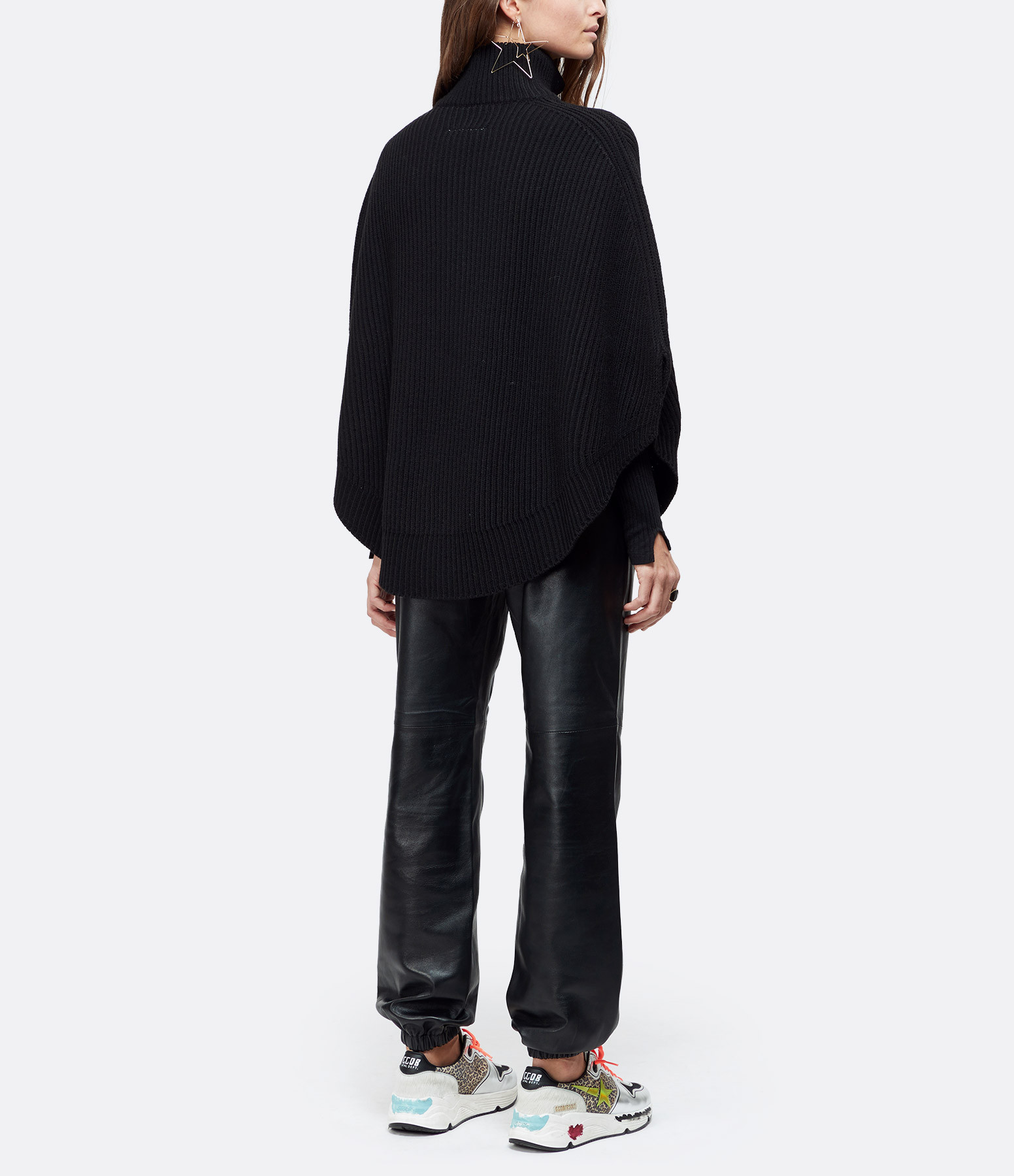 MM6 MAISON MARGIELA - Sweatshirt Noir, Collection Studio