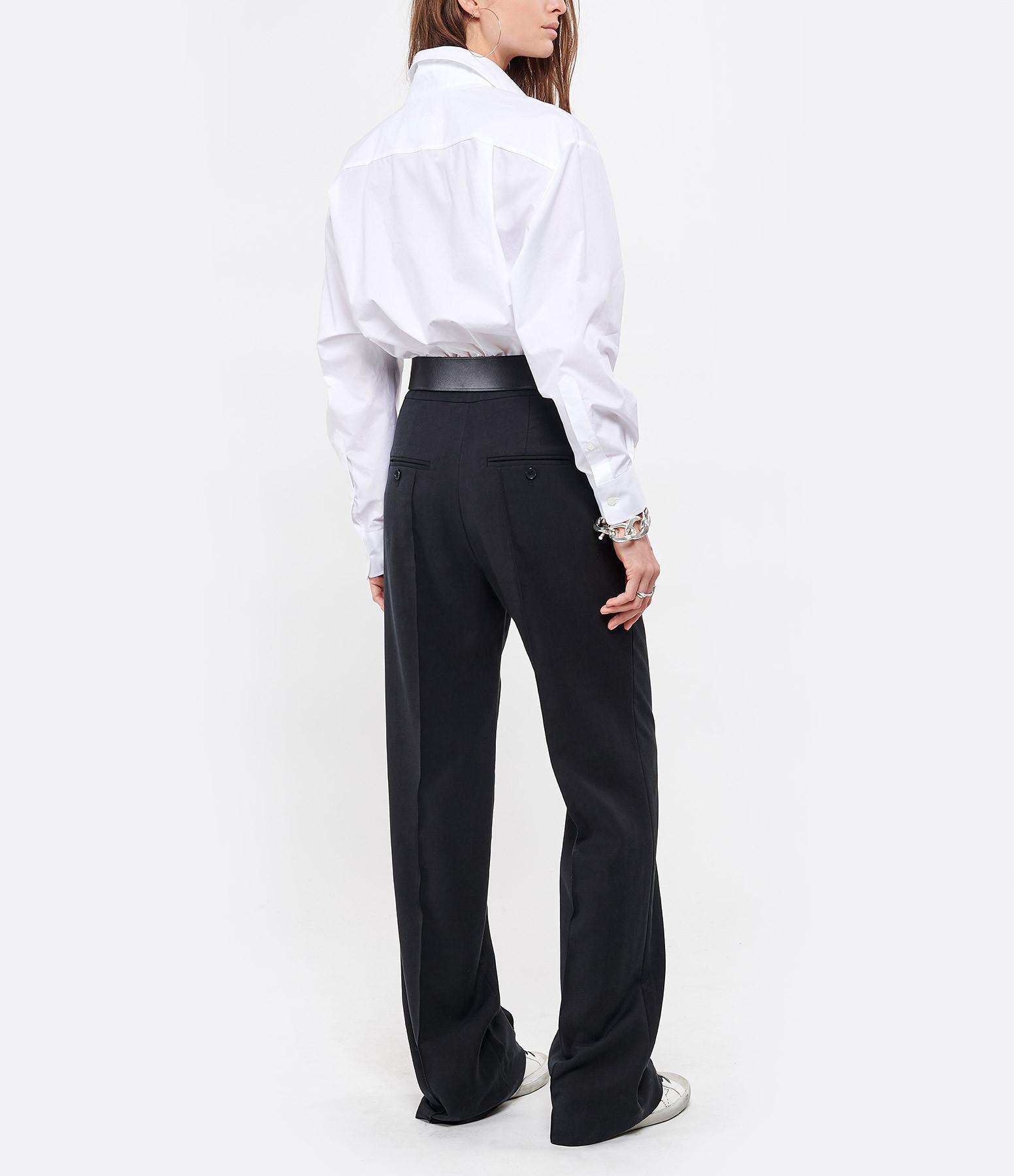 MM6 MAISON MARGIELA - Body Coton Blanc, Collection Studio
