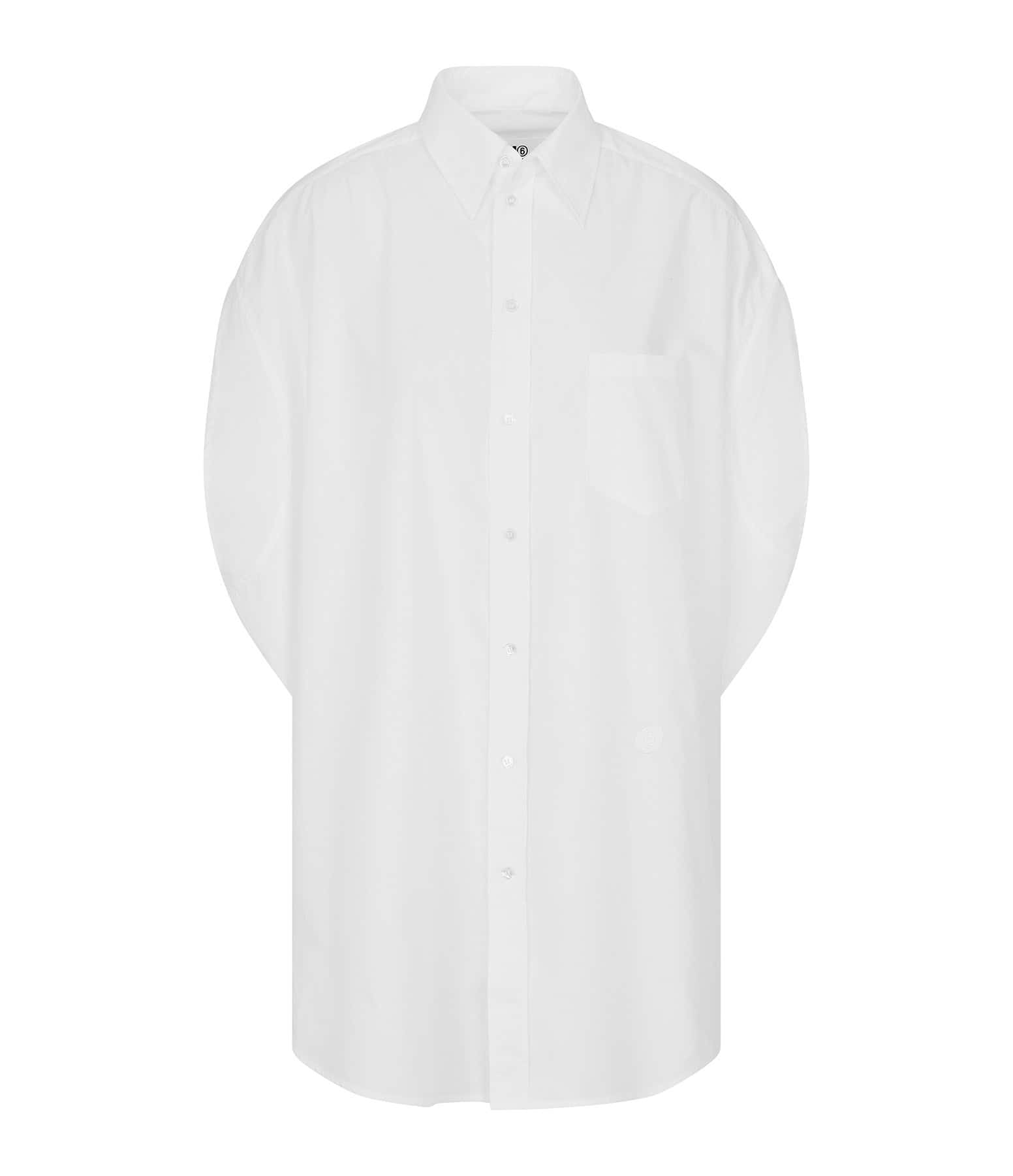 MM6 MAISON MARGIELA - Chemise Oversize Blanc, Collection Studio
