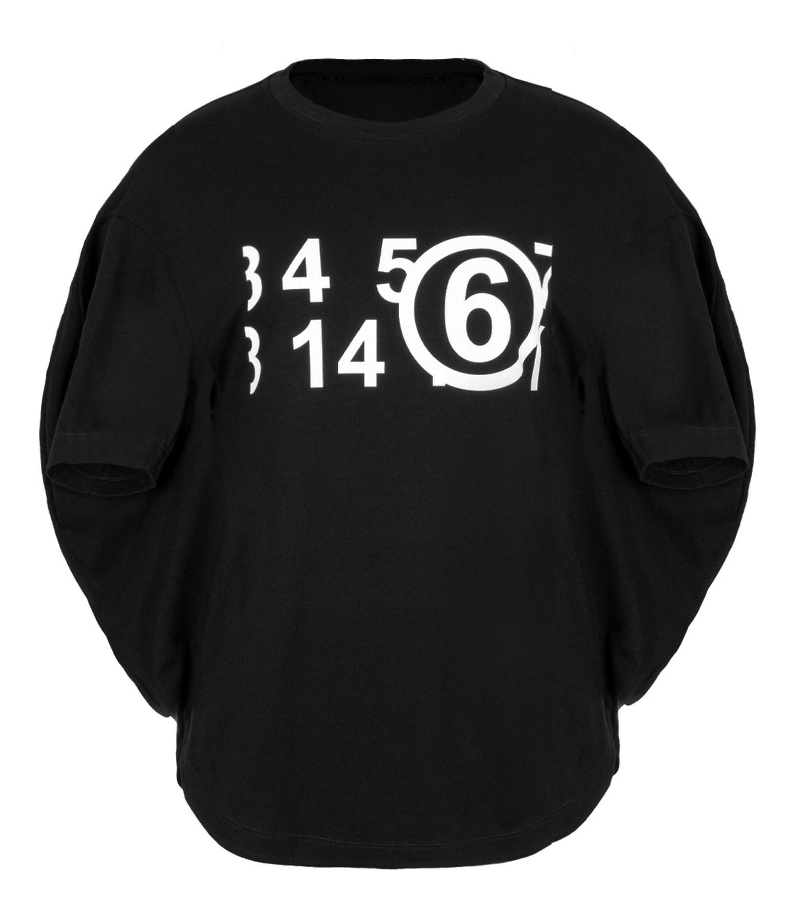 MM6 MAISON MARGIELA - Tee-shirt Noir, Collection Studio