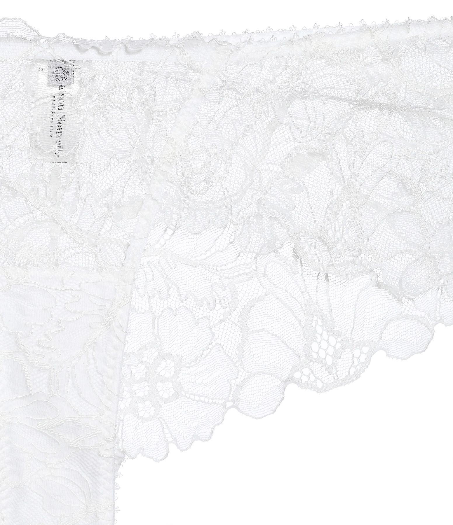 MAISON NOUVELLE - Shorty Dentelle Blanc