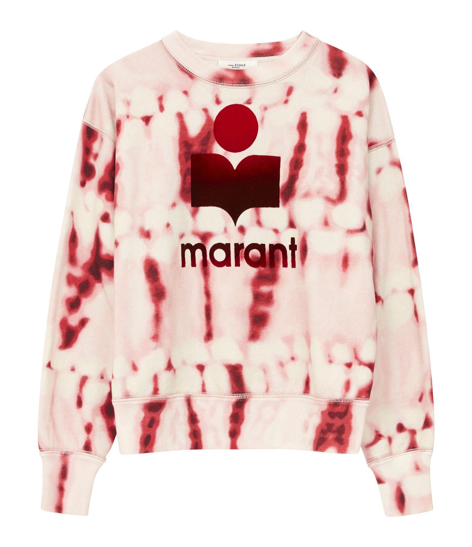 ISABEL MARANT ÉTOILE - Sweatshirt Mobyli Coton Rouge