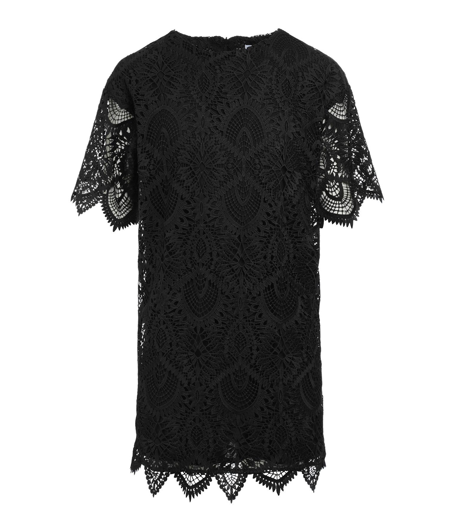 MODETROTTER - Robe Oscar Imprimé Tolki Noir