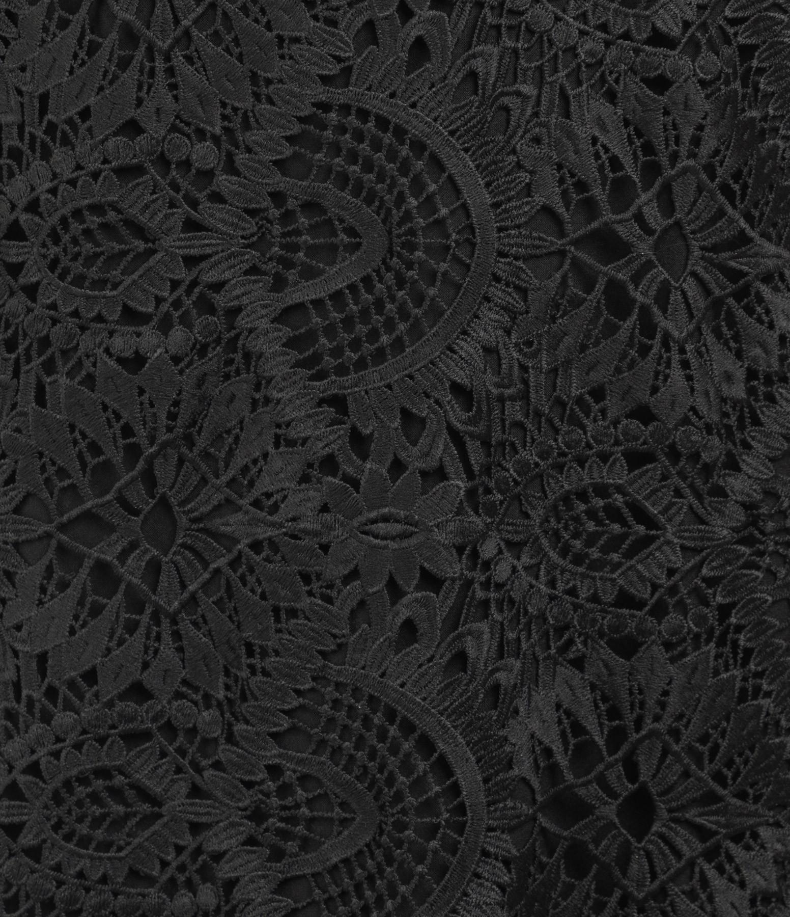 MODETROTTER - Robe Roxane Imprimé Tolki Noir