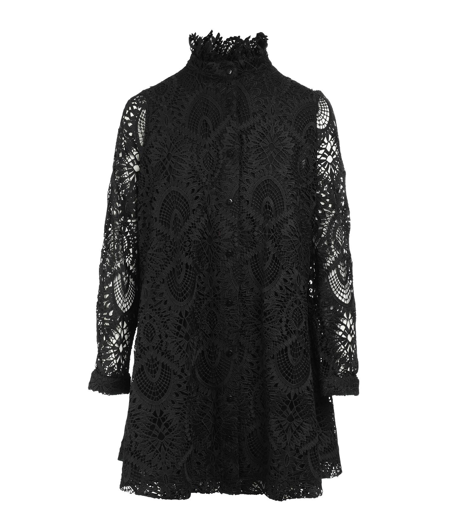 MODETROTTER - Robe Tao Imprimé Tolki Noir