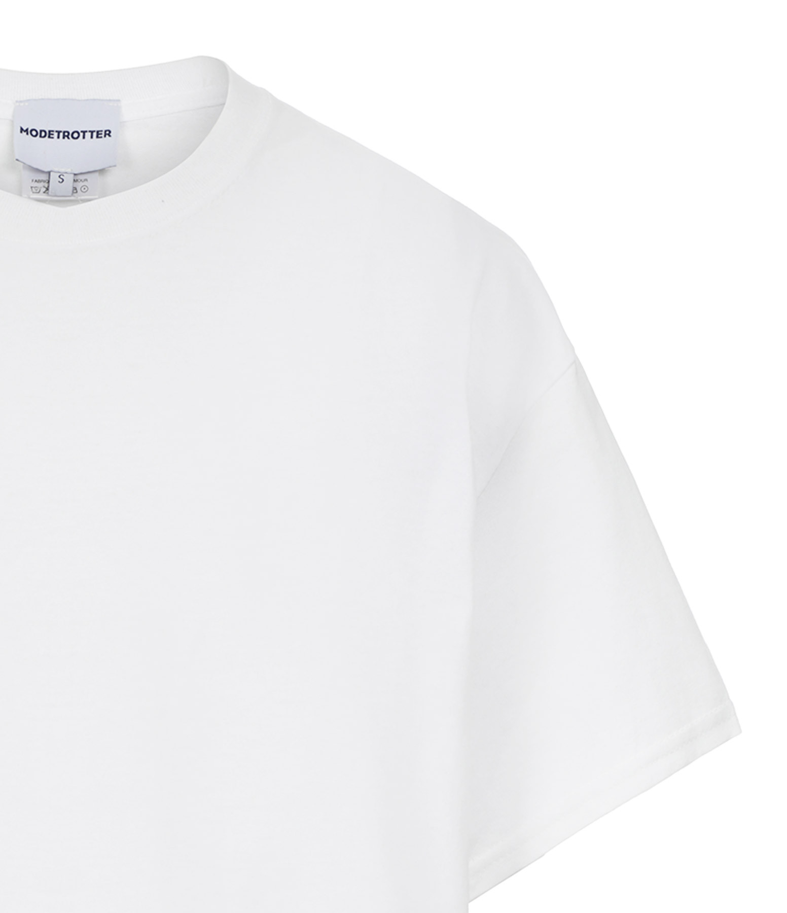 MODETROTTER - Tee-shirt Chris Coton Blanc