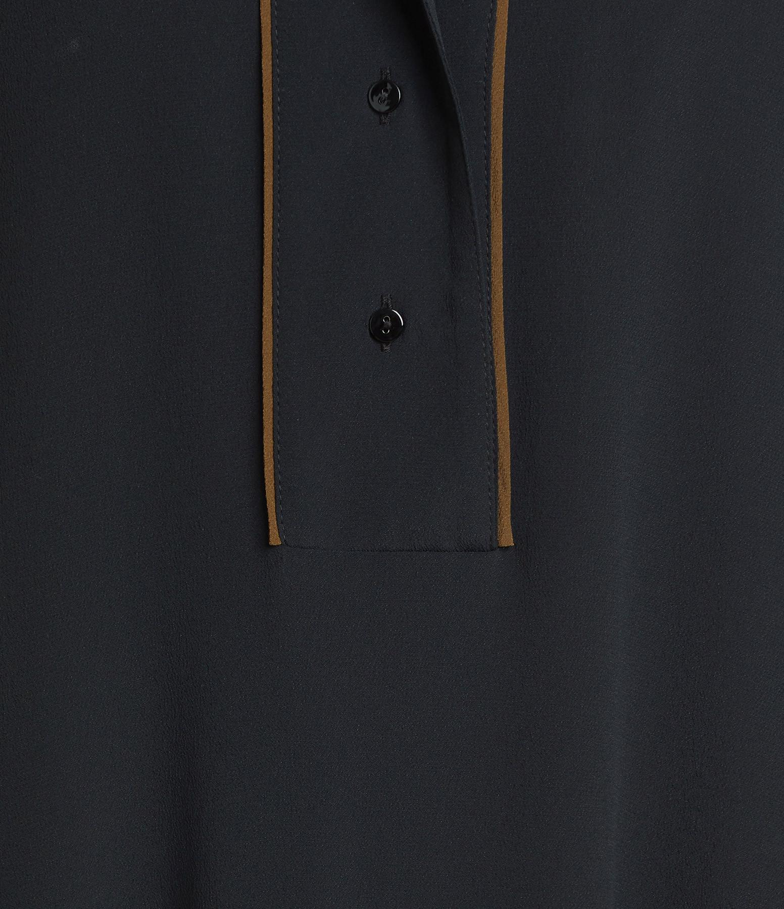 MOMONI - Robe Bata Soie Noir