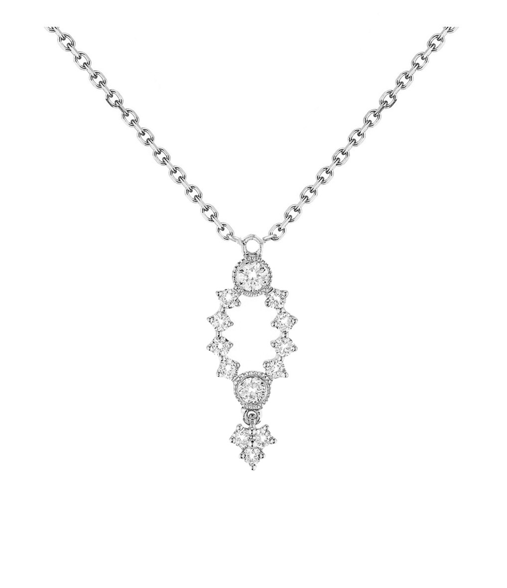 STONE PARIS - Collier Monroe Or Diamants