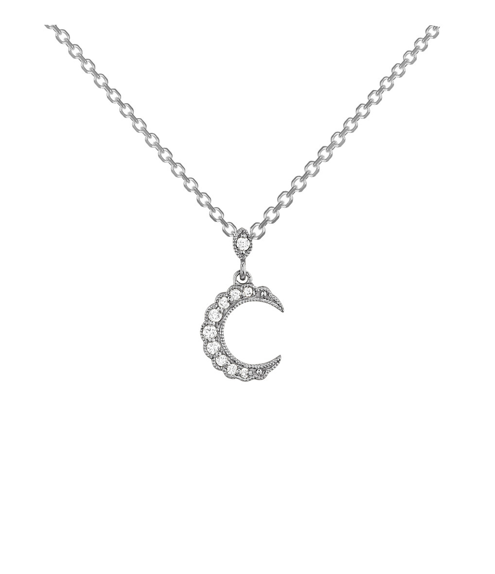 STONE PARIS - Collier Moonlight Or Diamants