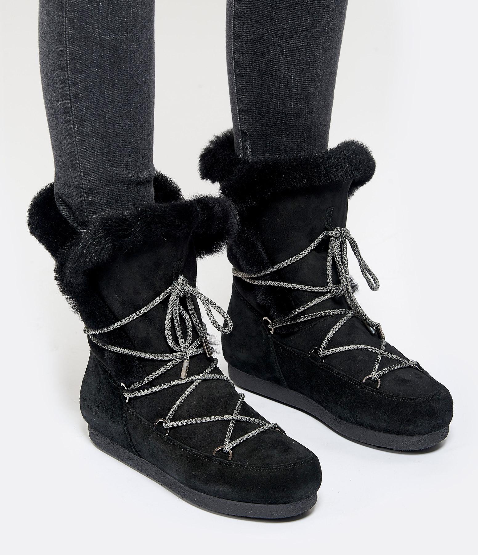 MOON BOOT - Moon Boot Hautes Far Side Noir