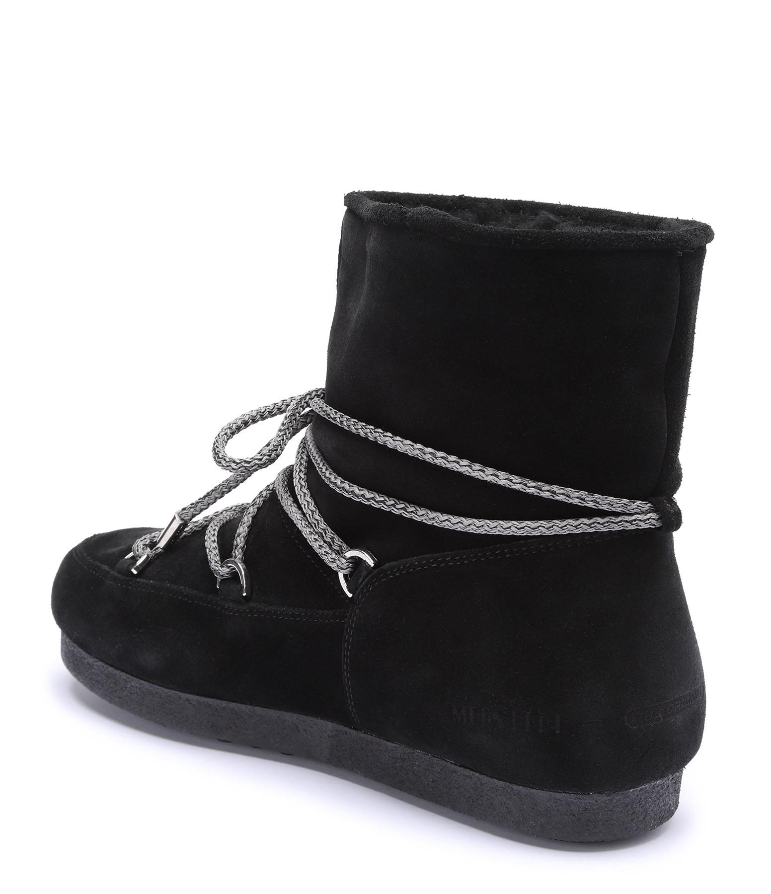 MOON BOOT - Moon Boot Basses Far Side Noir