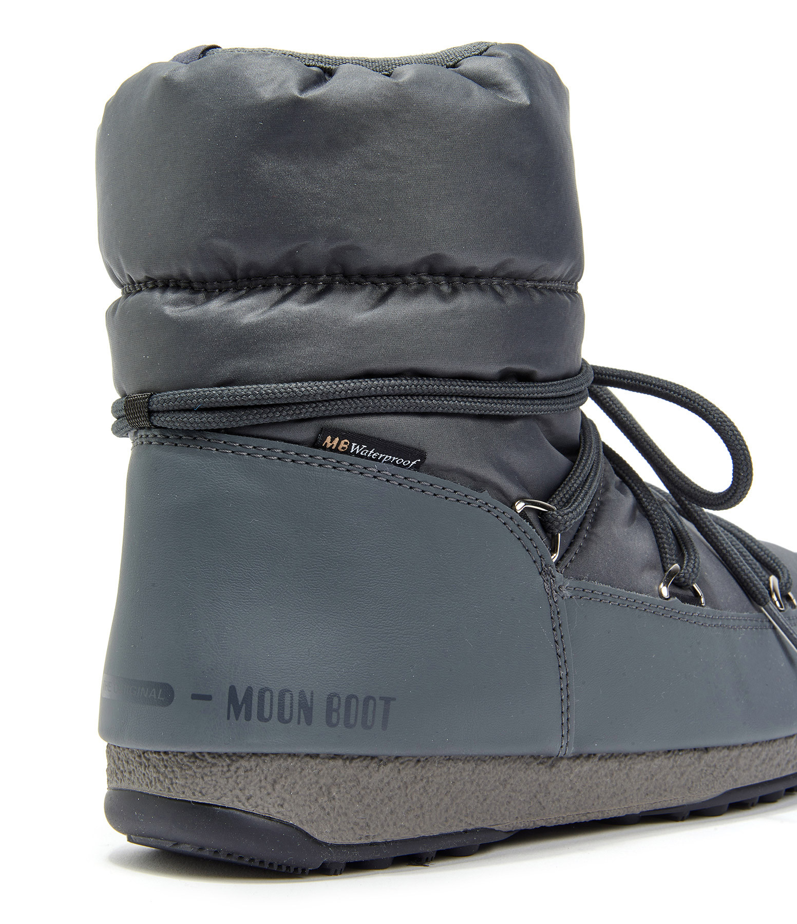 MOON BOOT - Moon Boot Basses Nylon Argenté