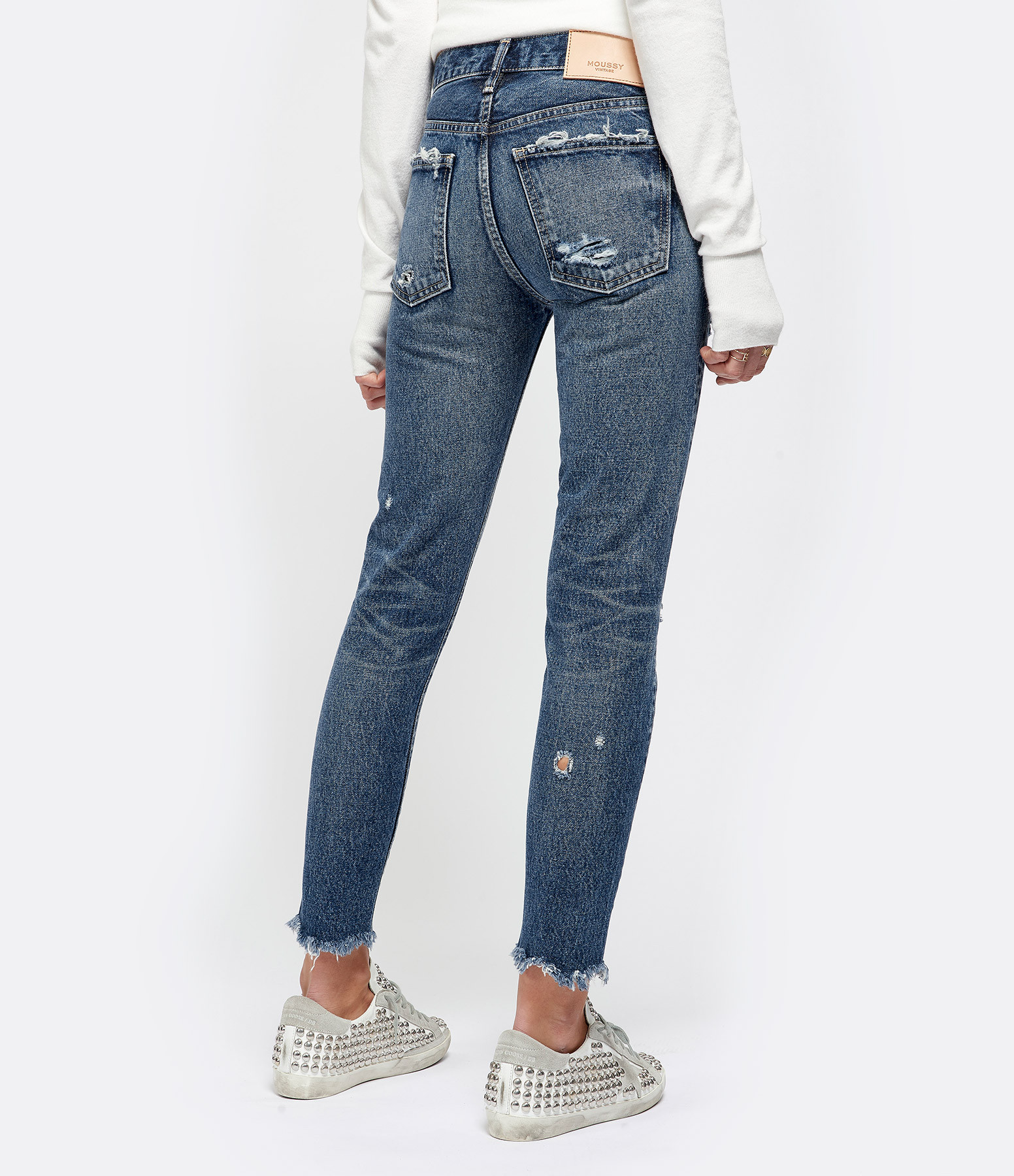MOUSSY VINTAGE - Jean Kelley Tapered Bleu