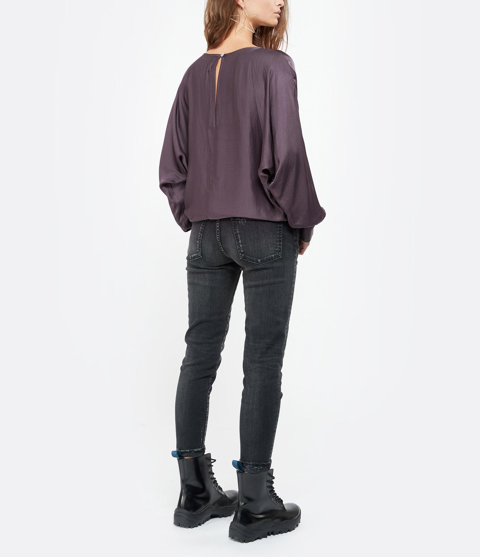MOUSSY VINTAGE - Jean Velma Skinny Coton Denim Noir