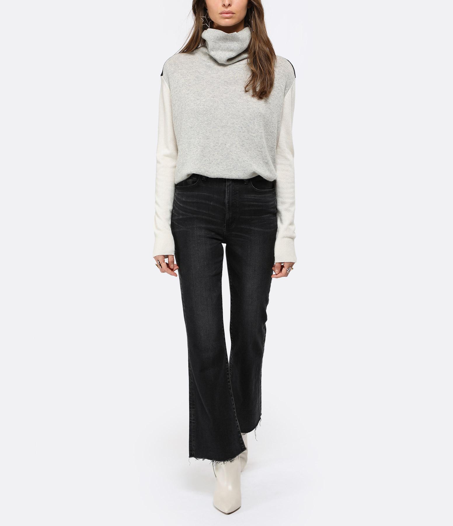 MOUSSY VINTAGE - Jean Granby Stretch Flare Coton Noir