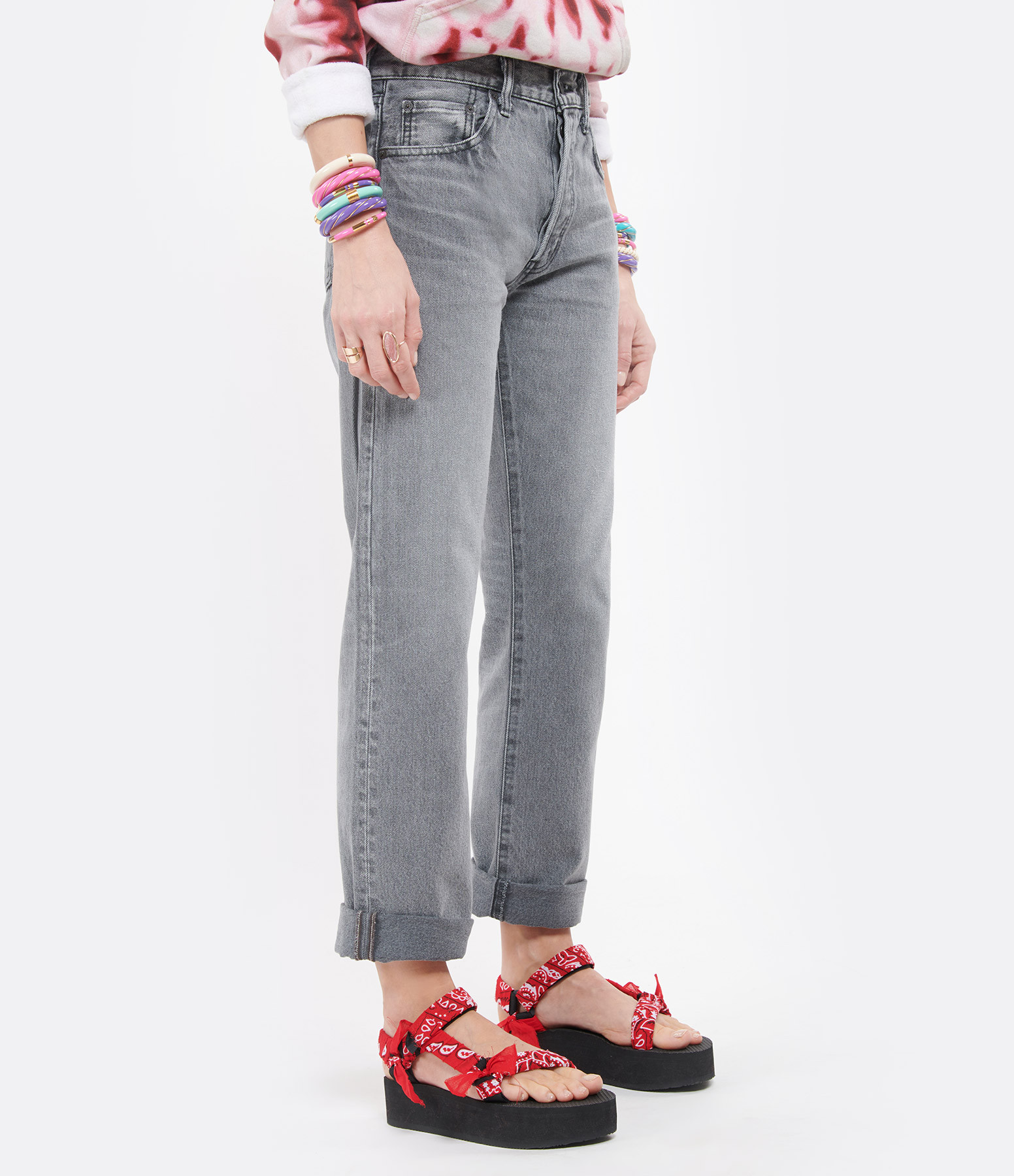 MOUSSY VINTAGE - Jean Boothbay Straight Denim Noir