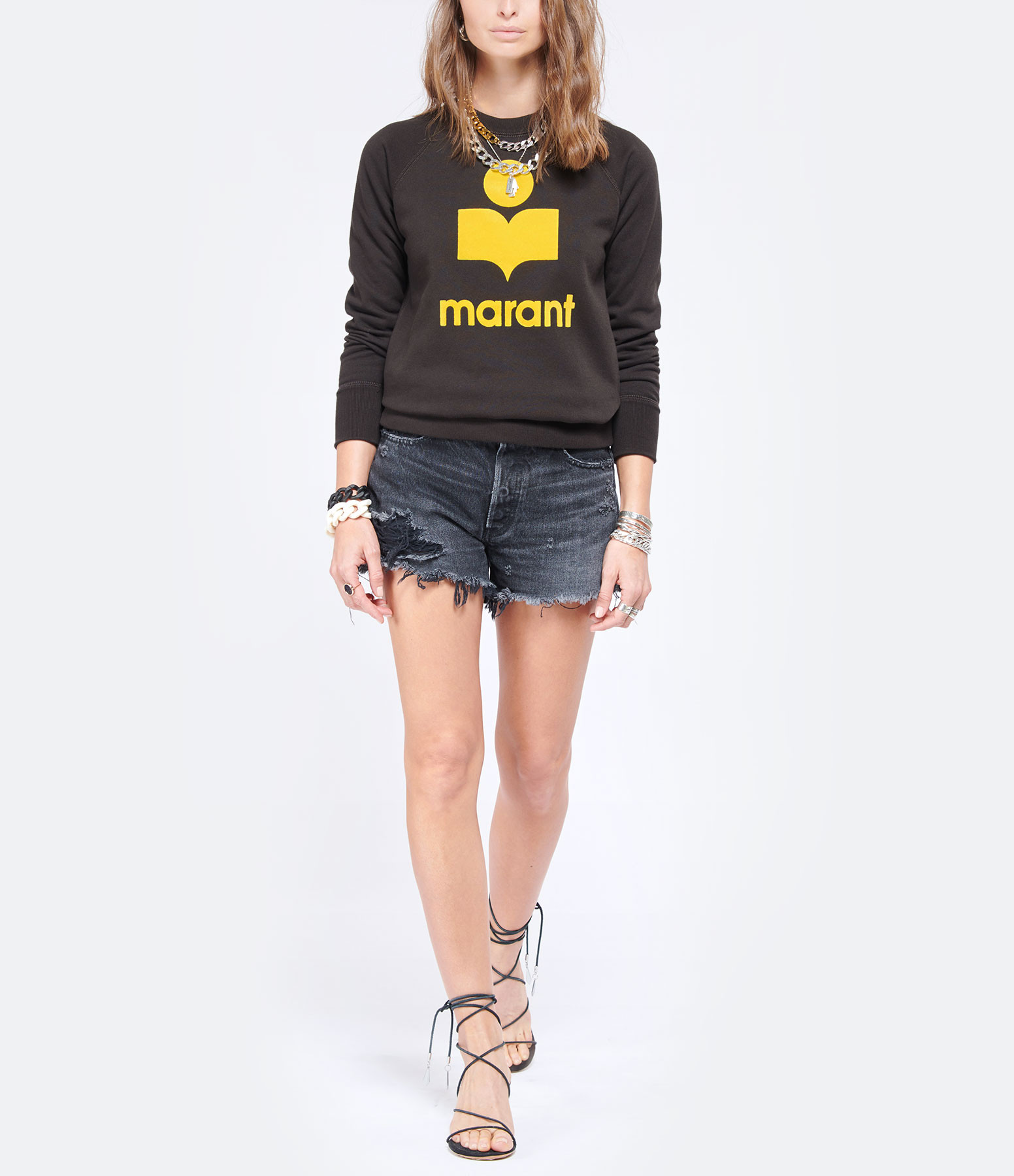 MOUSSY VINTAGE - Short Durango Denim Noir