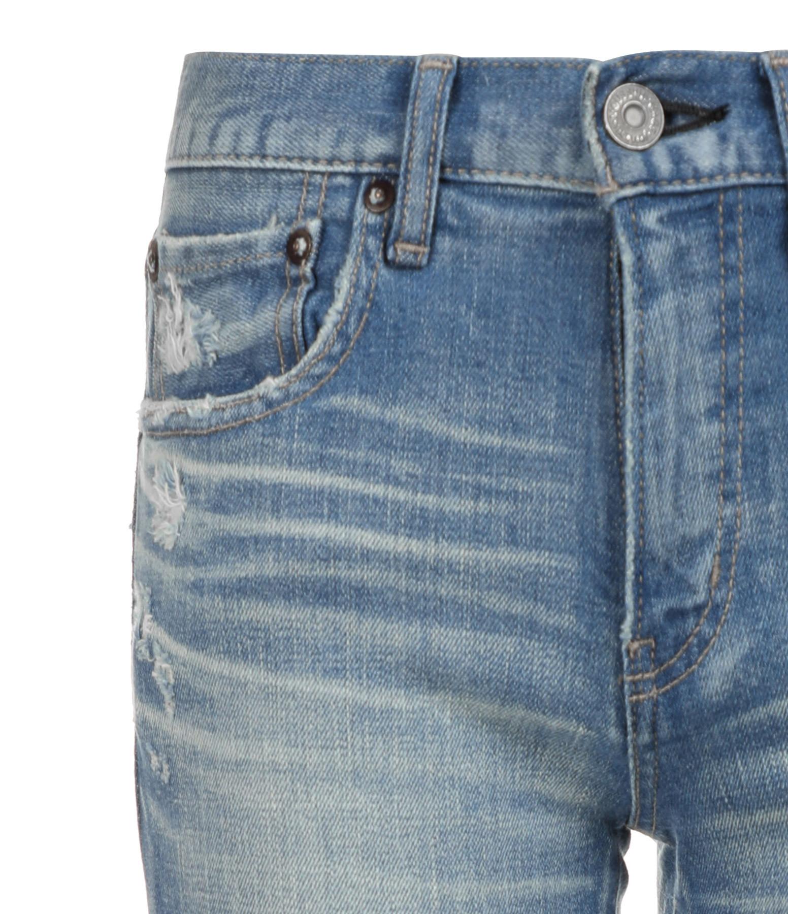MOUSSY VINTAGE - Jean Lenwood Skinny Coton Bleu