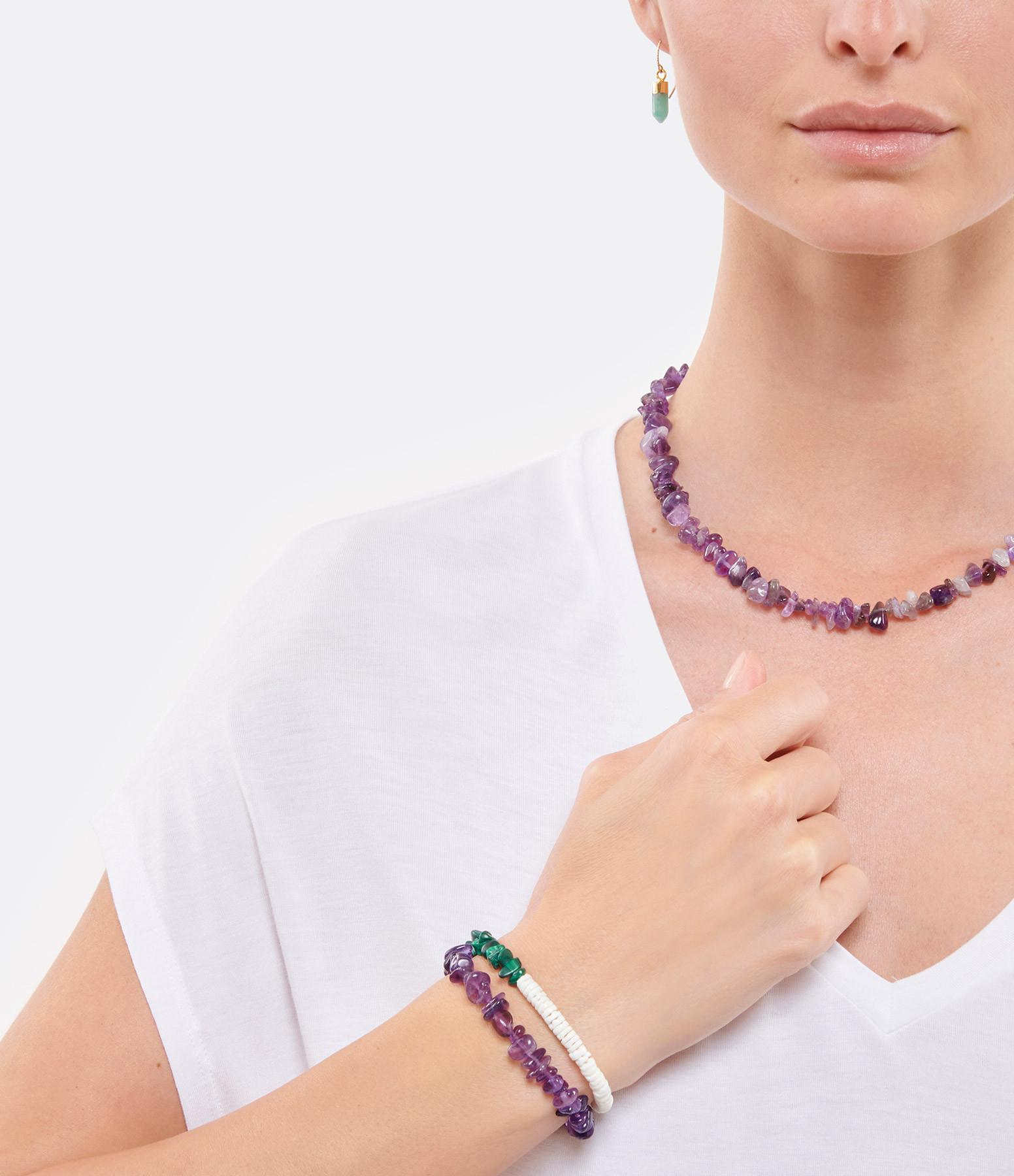 MON PRECIEUX GEM - Bracelet Facettes Améthyste
