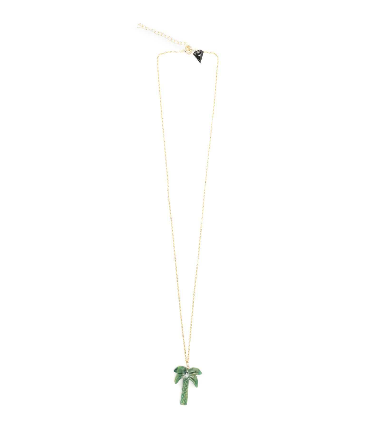 MON PRECIEUX GEM - Collier Palmier Jade